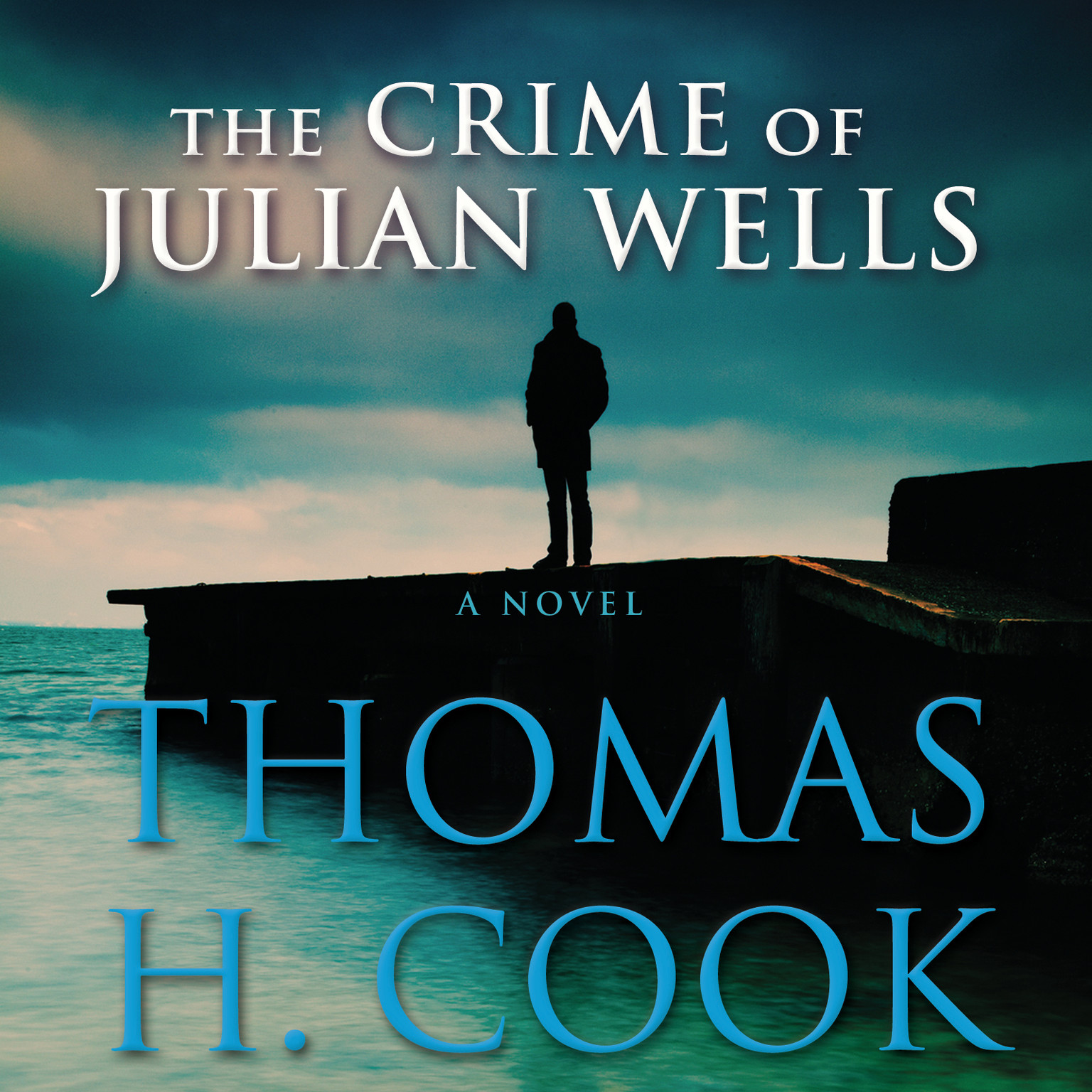 Printable The Crime of Julian Wells Audiobook Cover Art