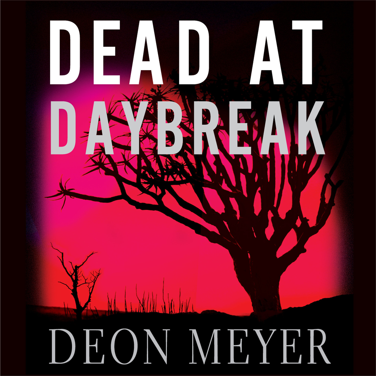 Printable Dead at Daybreak Audiobook Cover Art