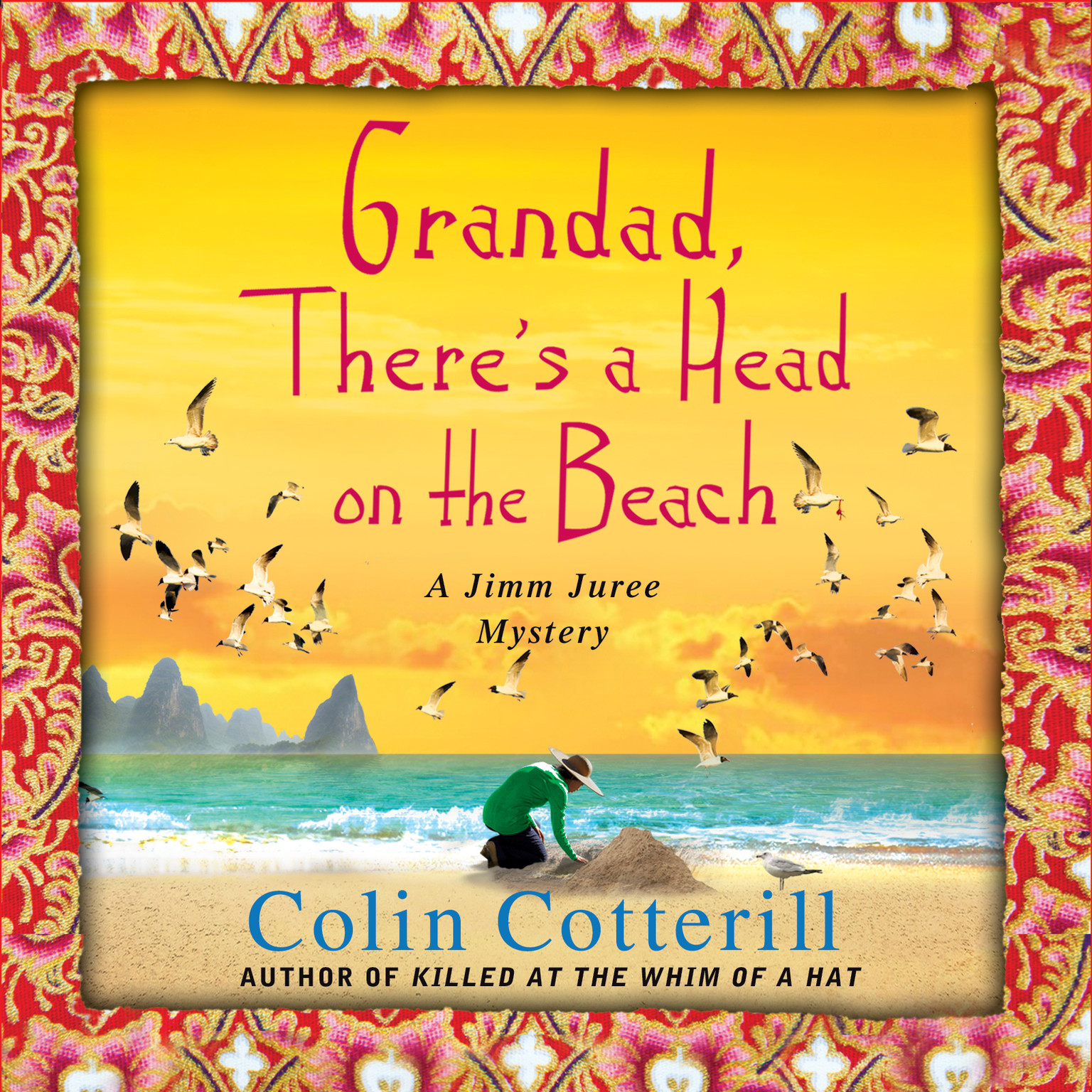 Printable Granddad, There's a Head on the Beach Audiobook Cover Art