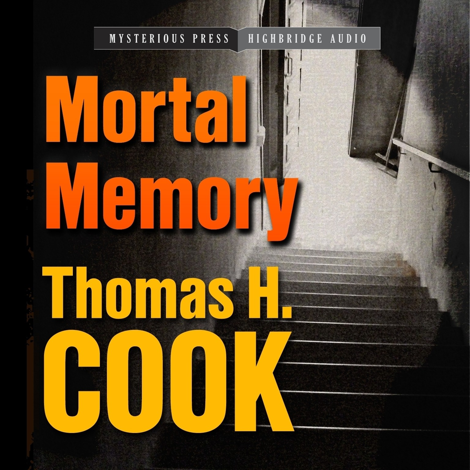 Printable Mortal Memory Audiobook Cover Art
