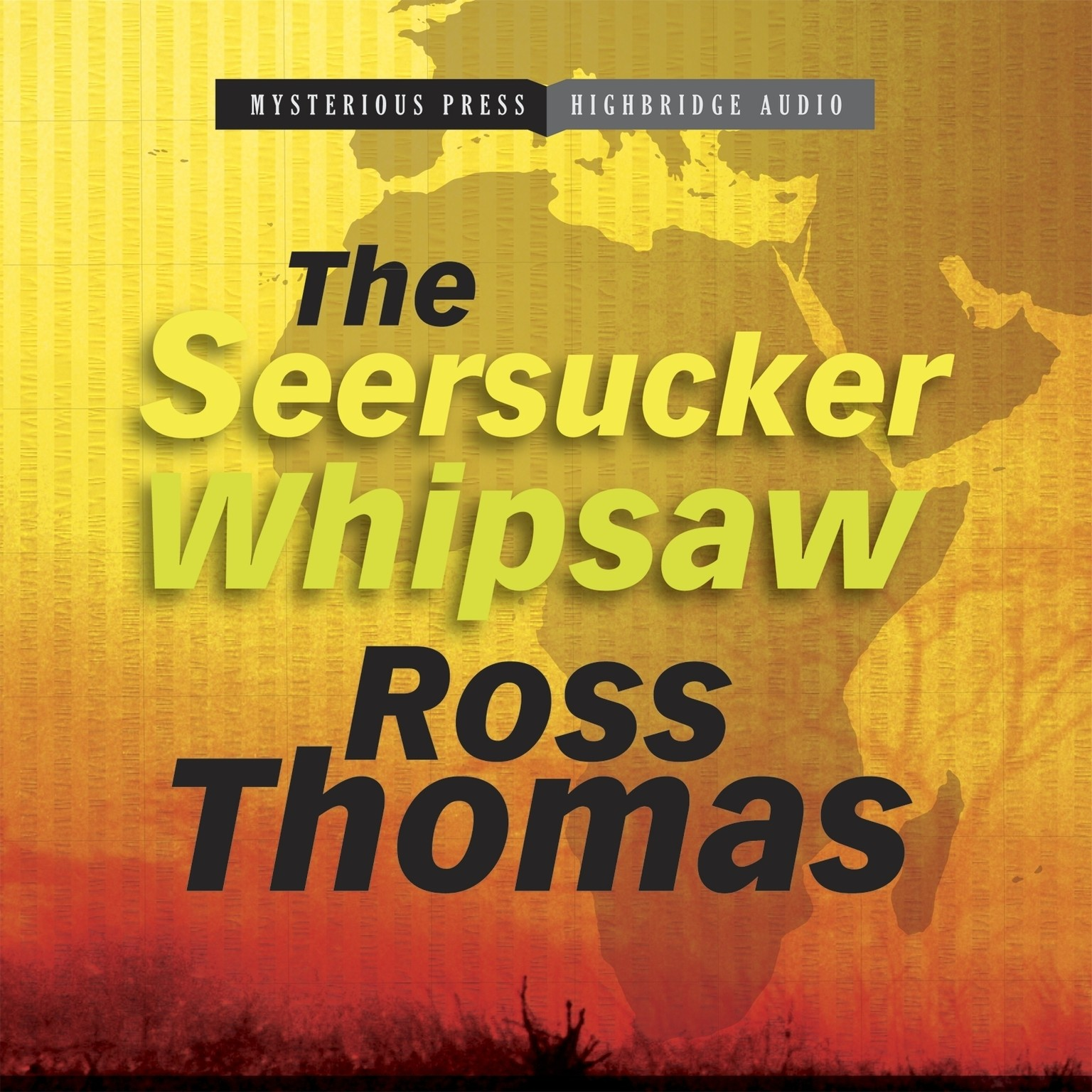 Printable The Seersucker Whipsaw Audiobook Cover Art