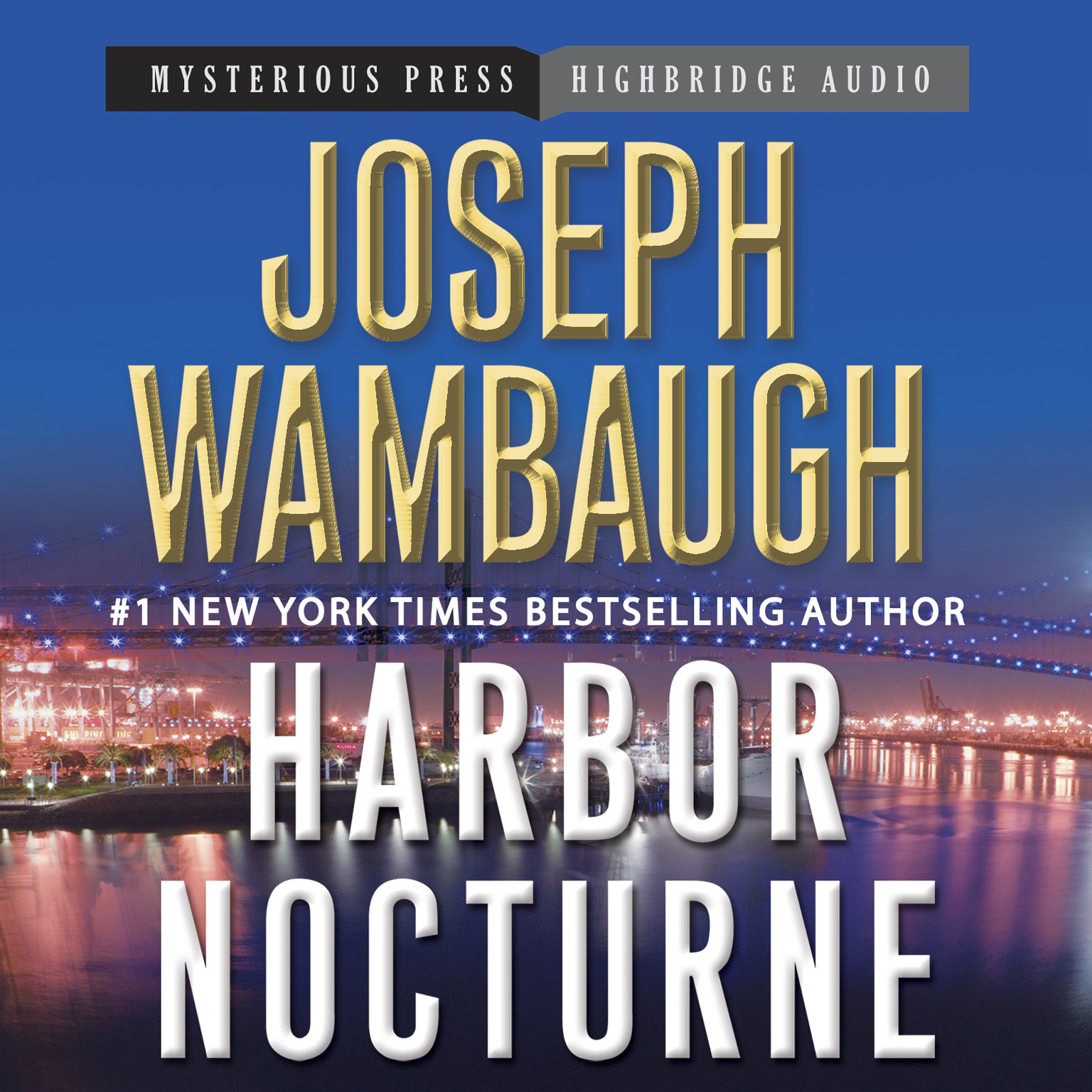 Printable Harbor Nocturne Audiobook Cover Art
