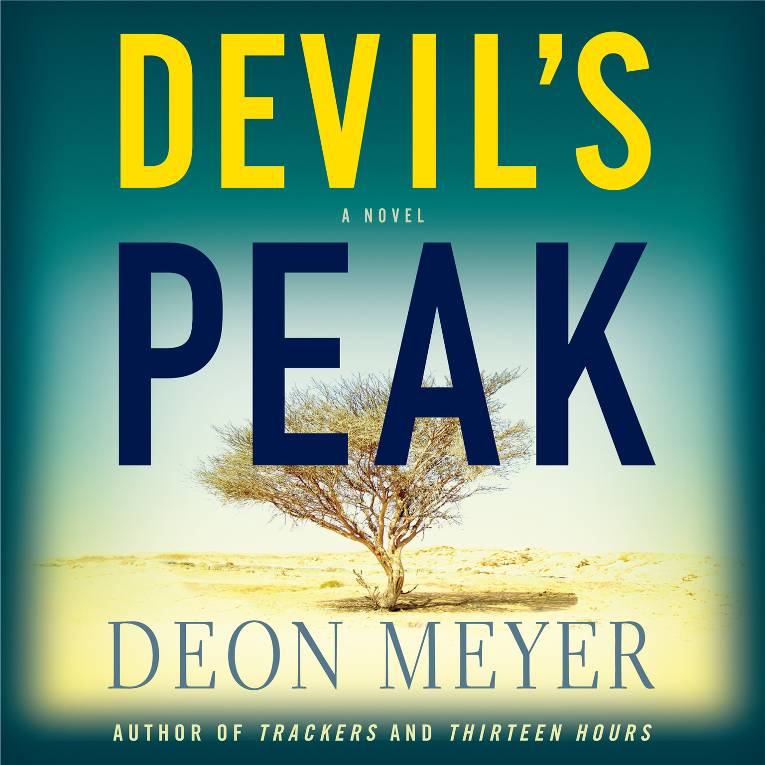 Printable Devil's Peak Audiobook Cover Art