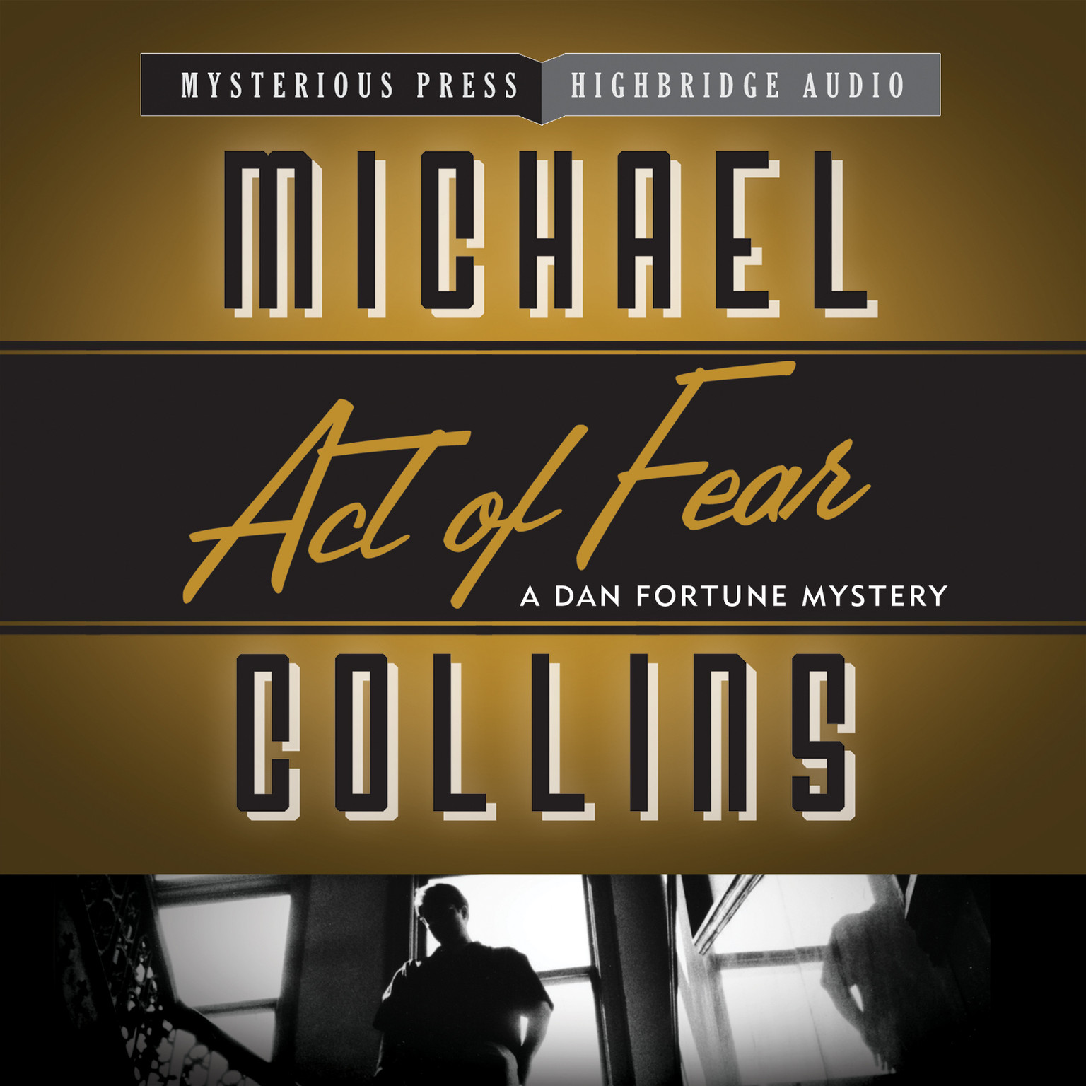 Printable Act of Fear Audiobook Cover Art