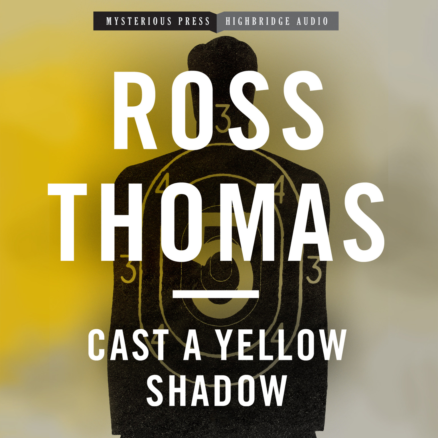 Printable Cast a Yellow Shadow Audiobook Cover Art