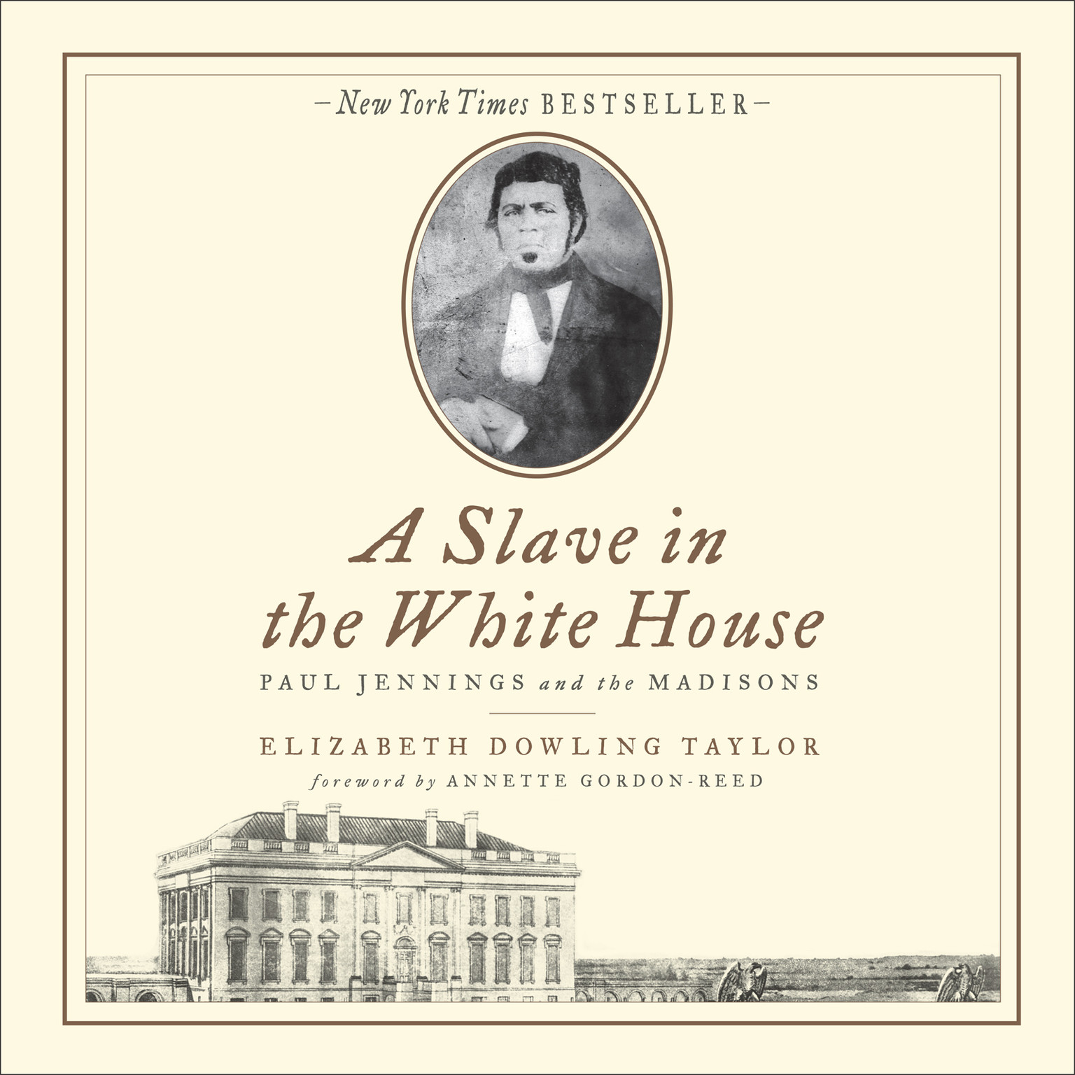 Printable A Slave in the White House: Paul Jennings and the Madisons Audiobook Cover Art