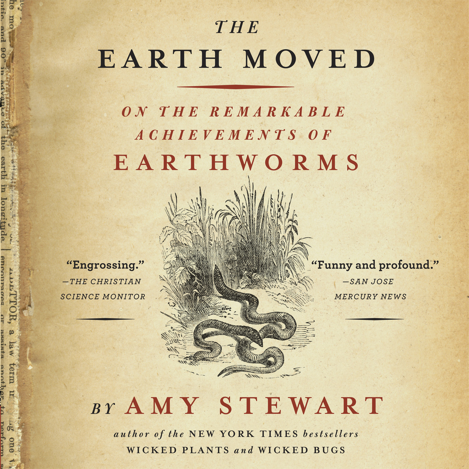 Printable The Earth Moved: On the Remarkable Achievements of Earthworms Audiobook Cover Art