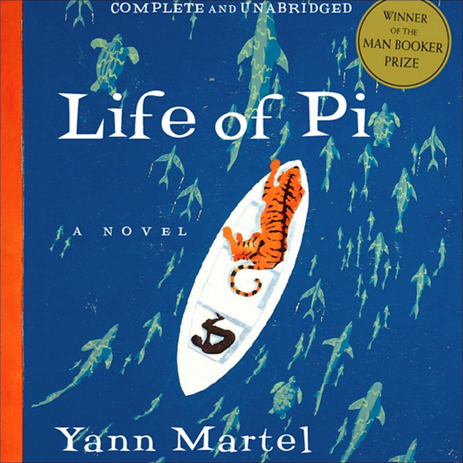 Printable Life of Pi Audiobook Cover Art