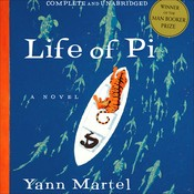 Life of Pi Audiobook, by Yann Martel