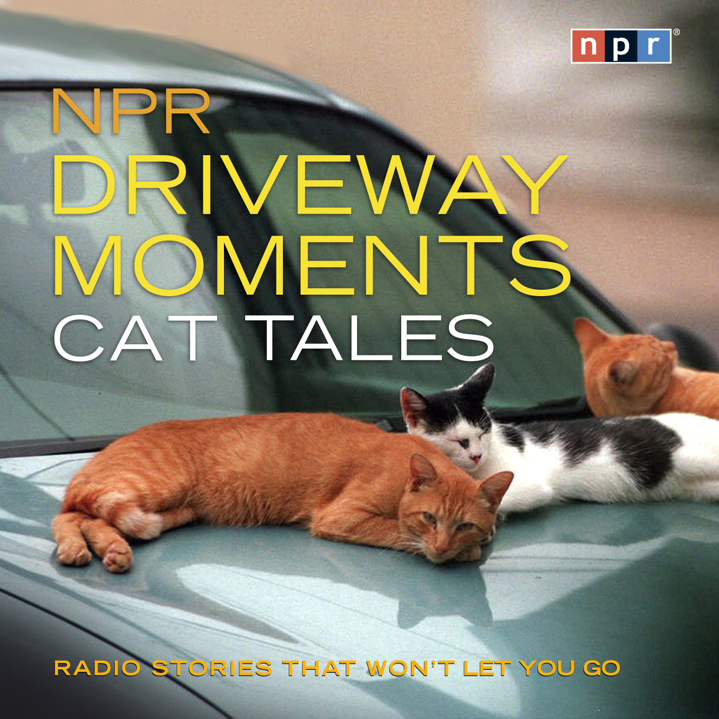Printable NPR Driveway Moments Cat Tales: Radio Stories That Won't Let You Go Audiobook Cover Art