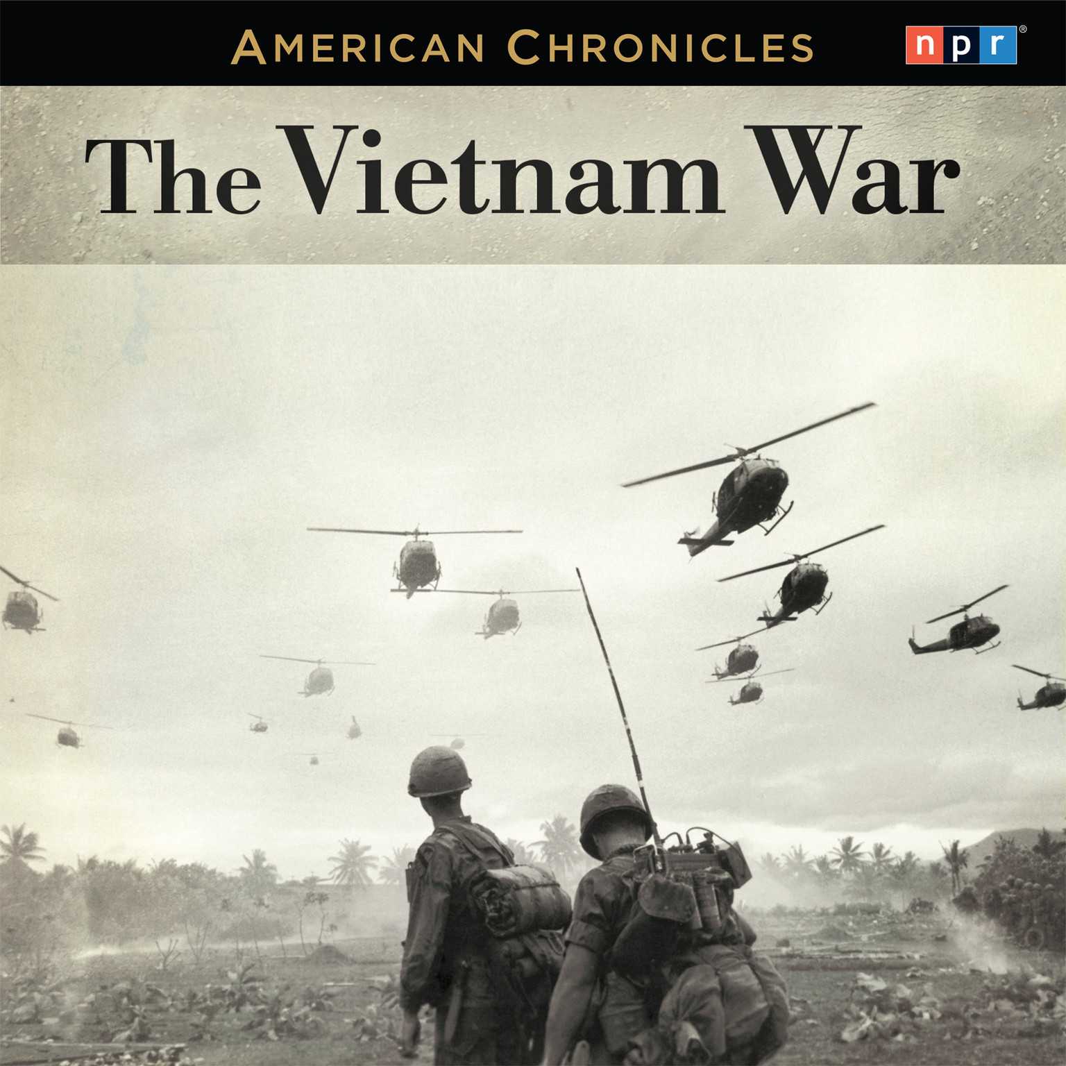 Printable NPR American Chronicles: The Vietnam War Audiobook Cover Art