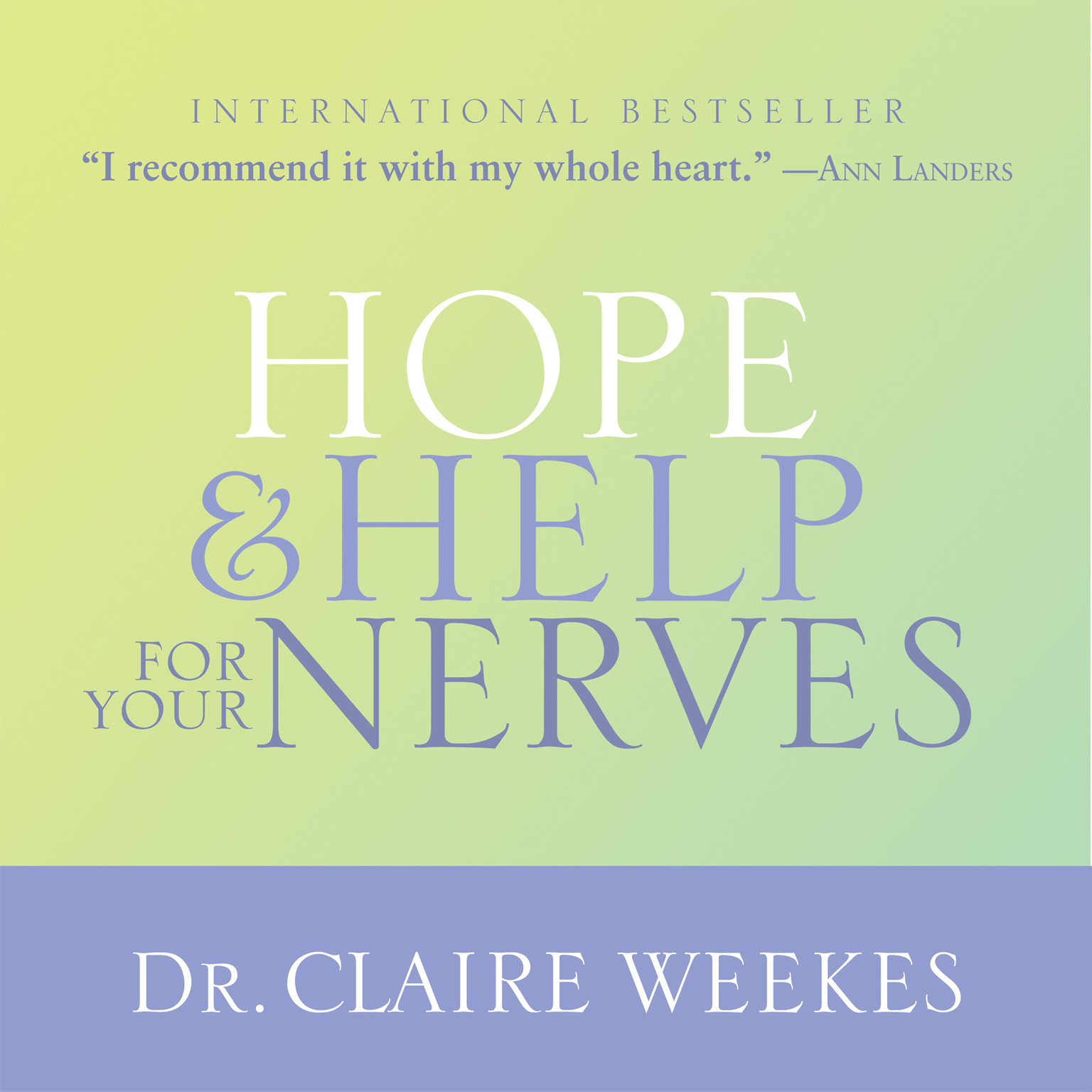 Printable Hope and Help for Your Nerves Audiobook Cover Art