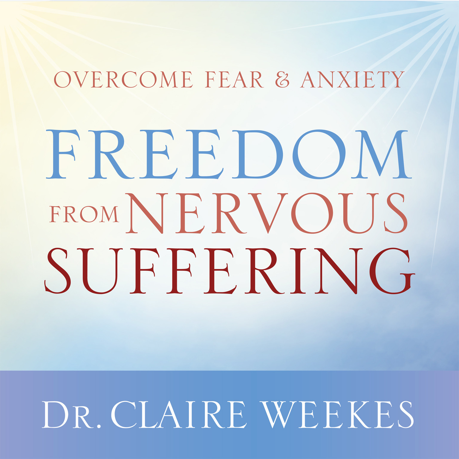 Printable Freedom from Nervous Suffering Audiobook Cover Art