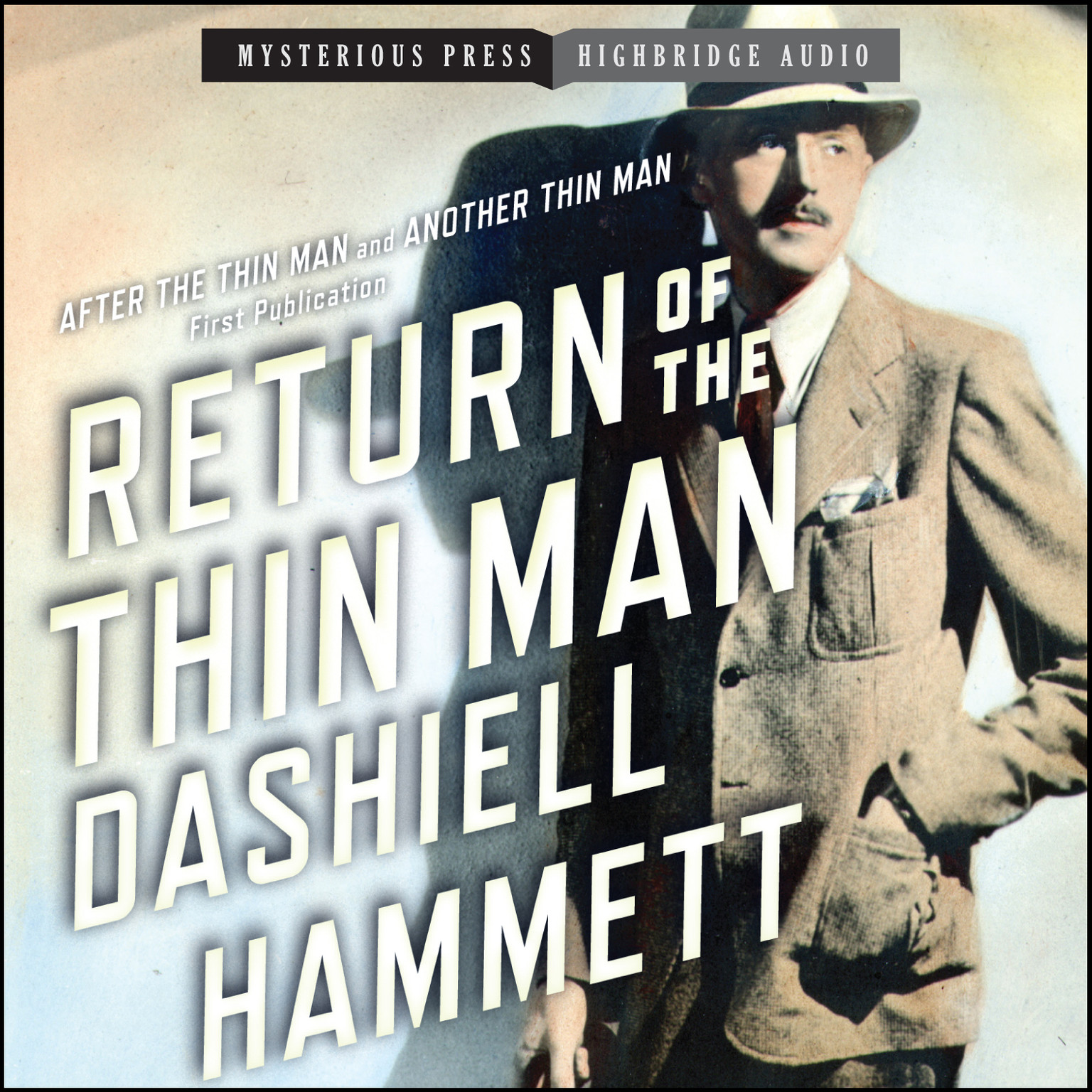 Printable Return of the Thin Man Audiobook Cover Art