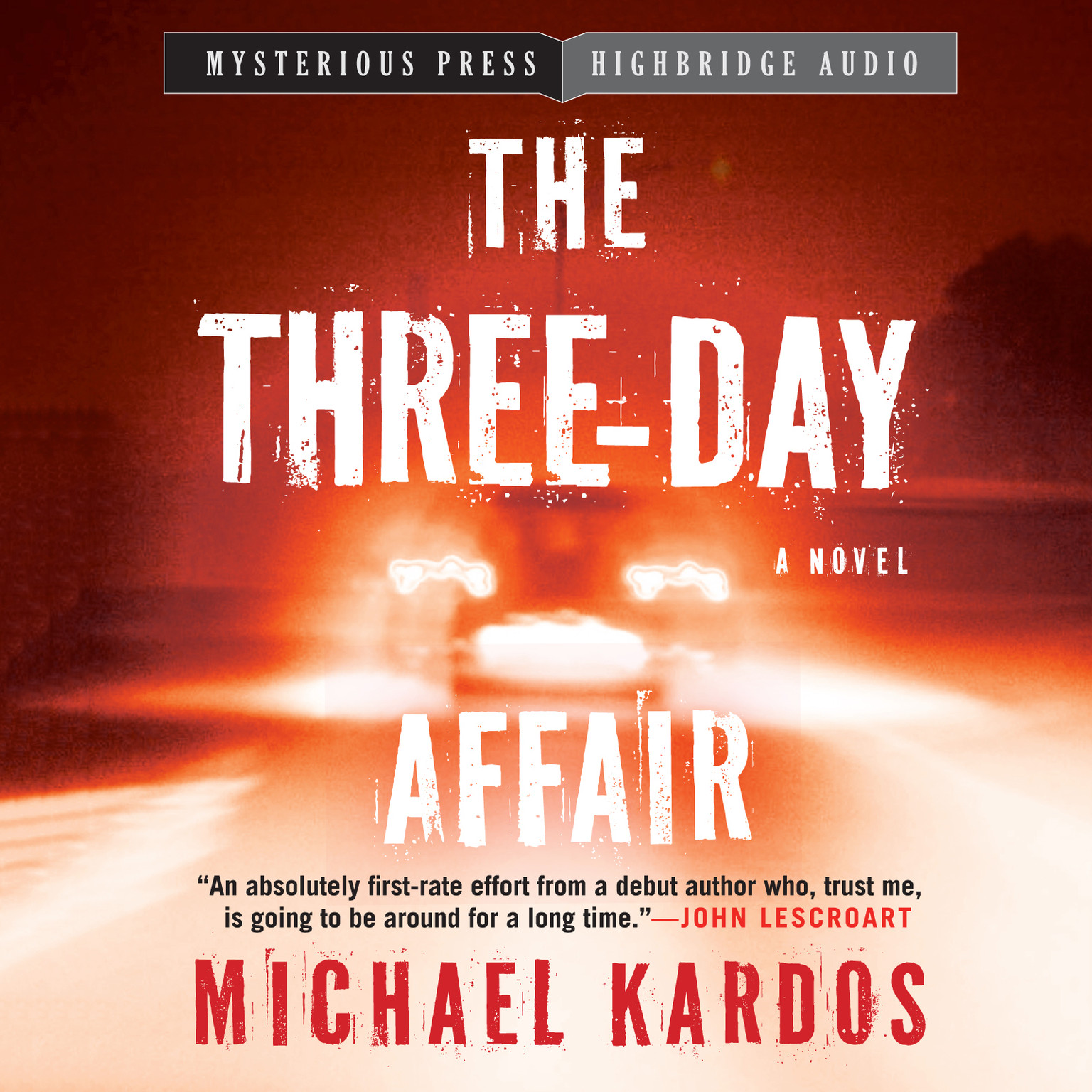 Printable The Three-Day Affair Audiobook Cover Art