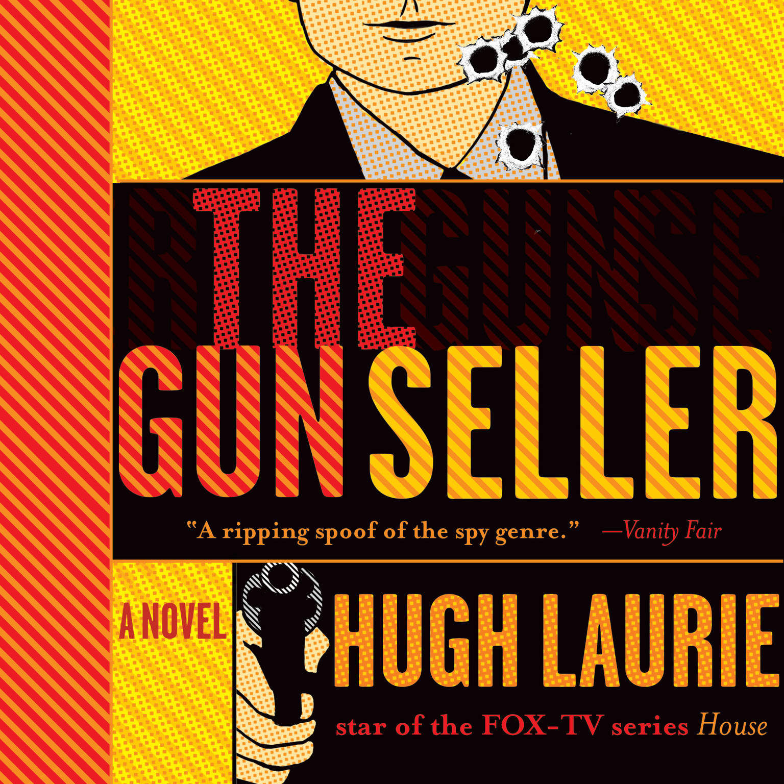 Printable The Gun Seller Audiobook Cover Art