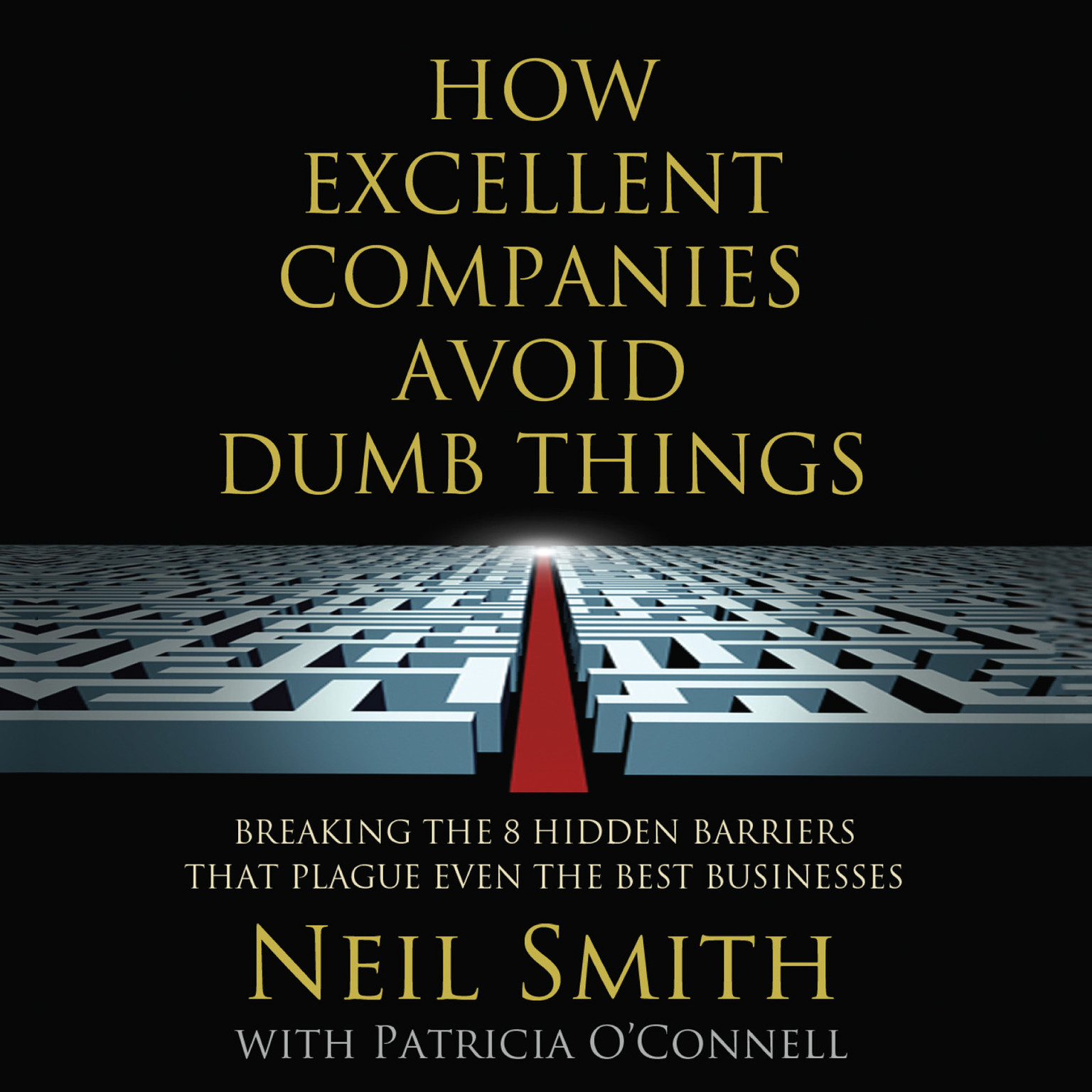 Printable How Excellent Companies Avoid Dumb Things: Breaking the 8 Hidden Barriers that Plague Even the Best Businesses Audiobook Cover Art