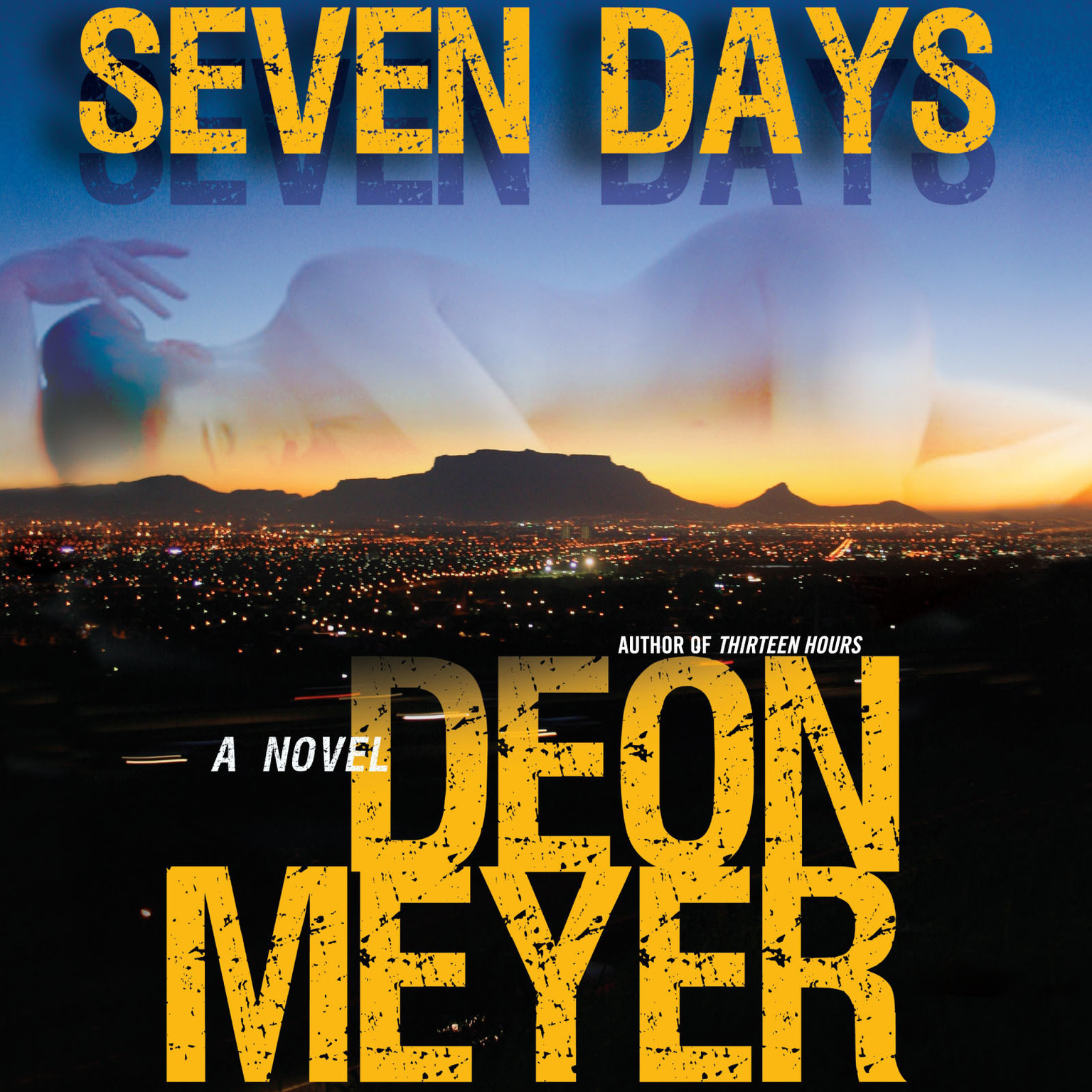 Printable Seven Days Audiobook Cover Art