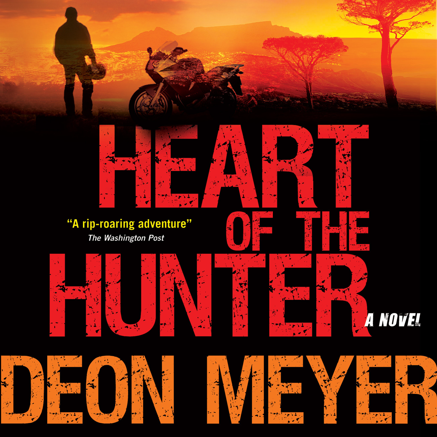 Printable Heart of the Hunter Audiobook Cover Art