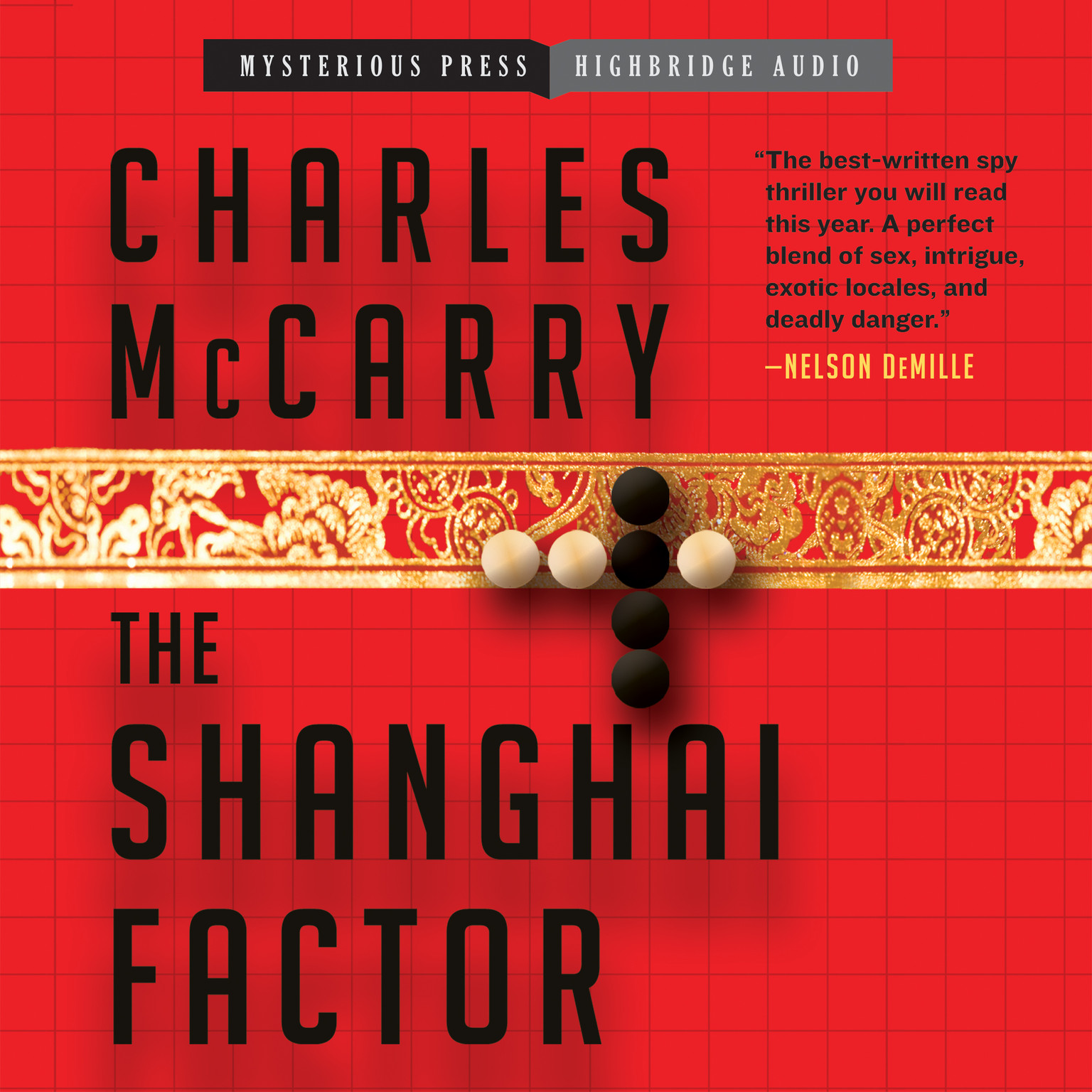Printable The Shanghai Factor Audiobook Cover Art