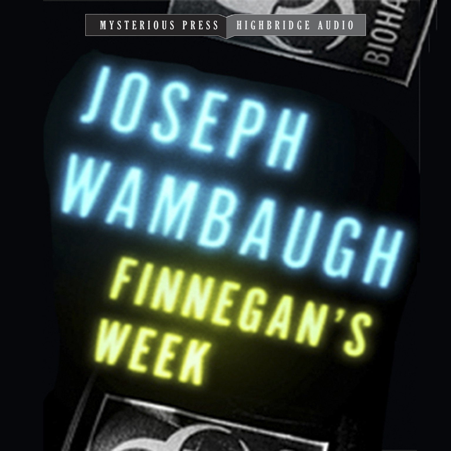 Printable Finnegan's Week Audiobook Cover Art
