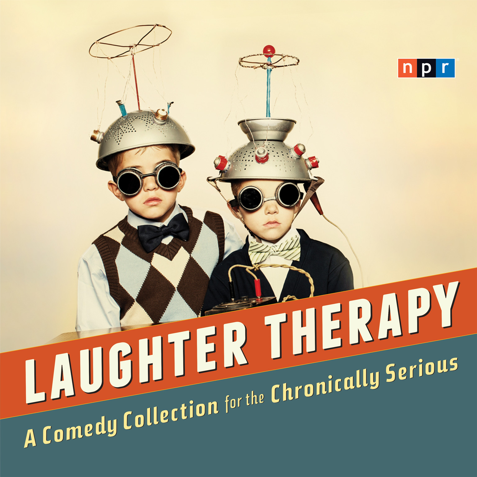 Printable Laughter Therapy: A Comedy Collection for the Chronically Serious Audiobook Cover Art