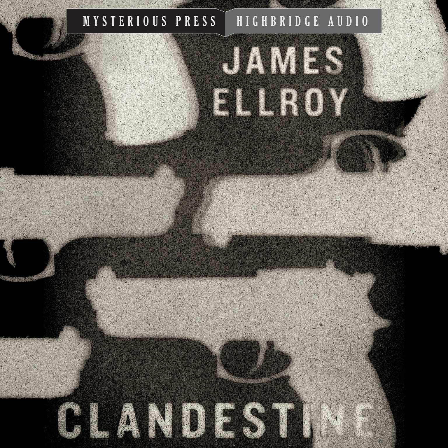 Printable Clandestine Audiobook Cover Art