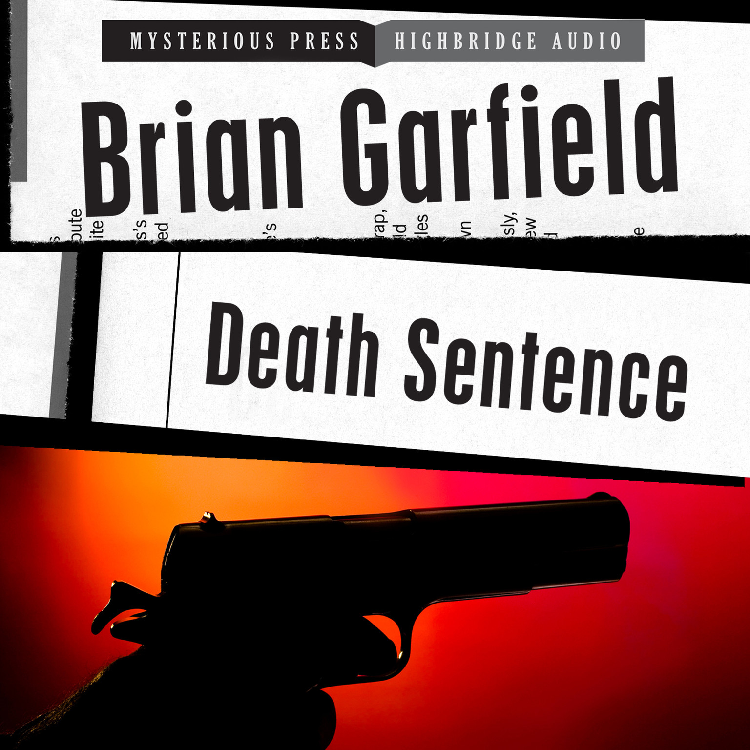 Printable Death Sentence Audiobook Cover Art