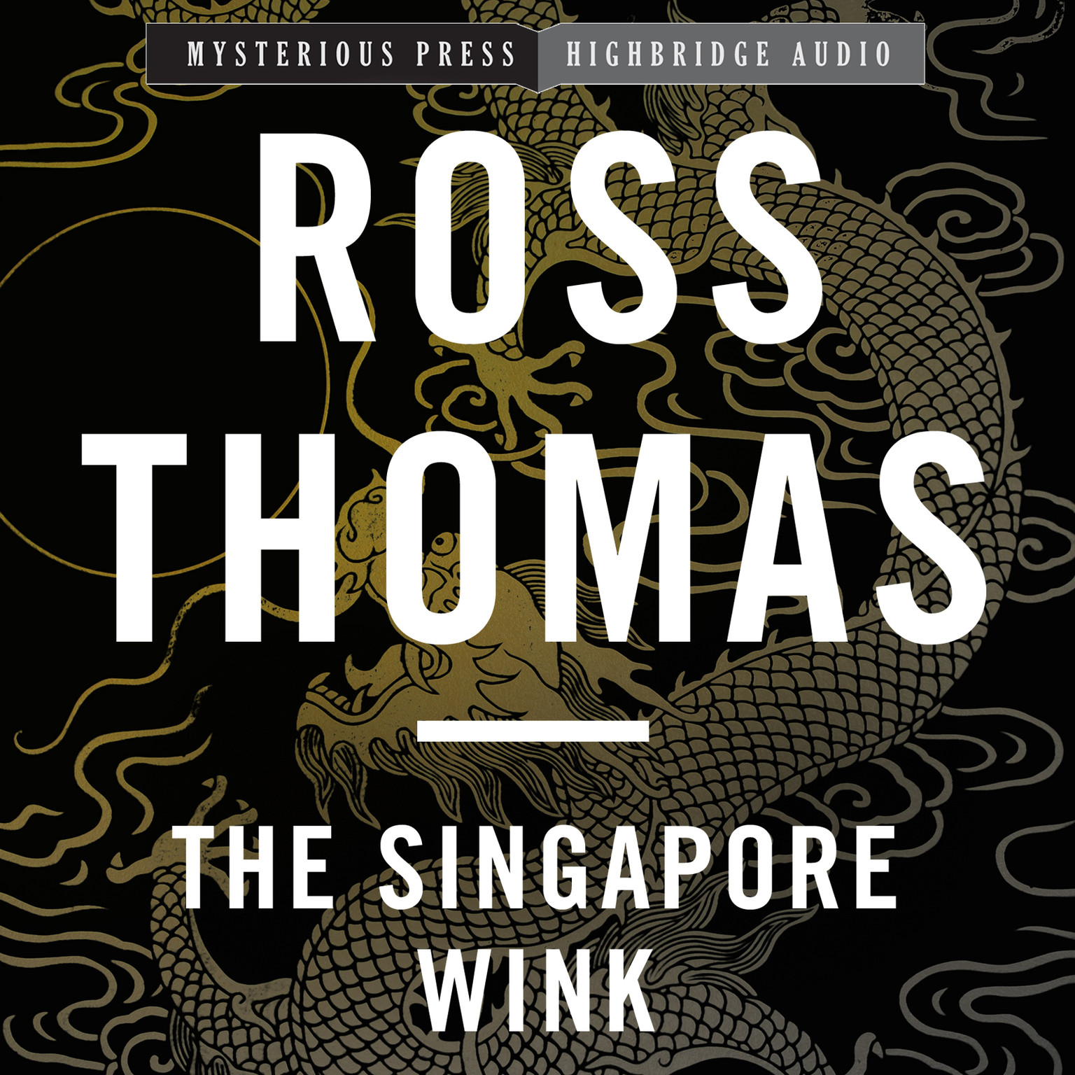 Printable The Singapore Wink Audiobook Cover Art