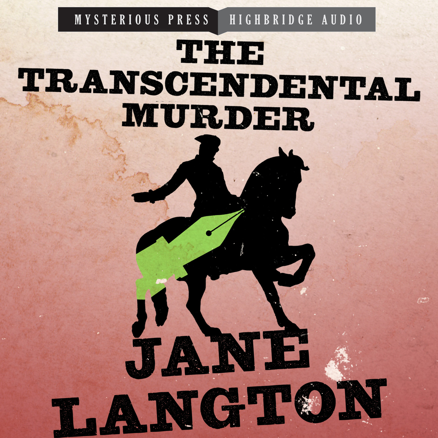 Printable The Transcendental Murder Audiobook Cover Art