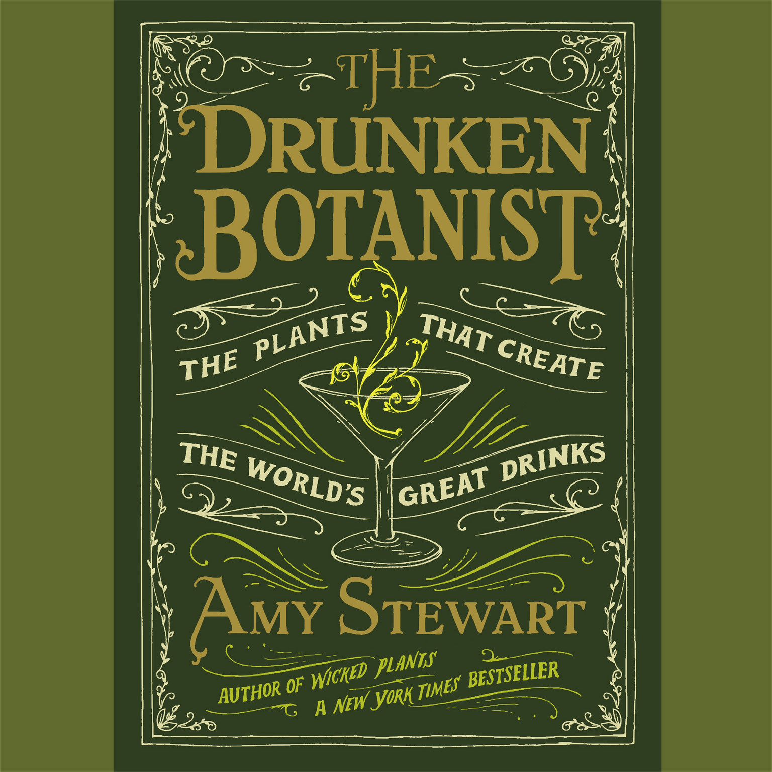 Printable The Drunken Botanist: The Plants That Create the World's Great Drinks Audiobook Cover Art
