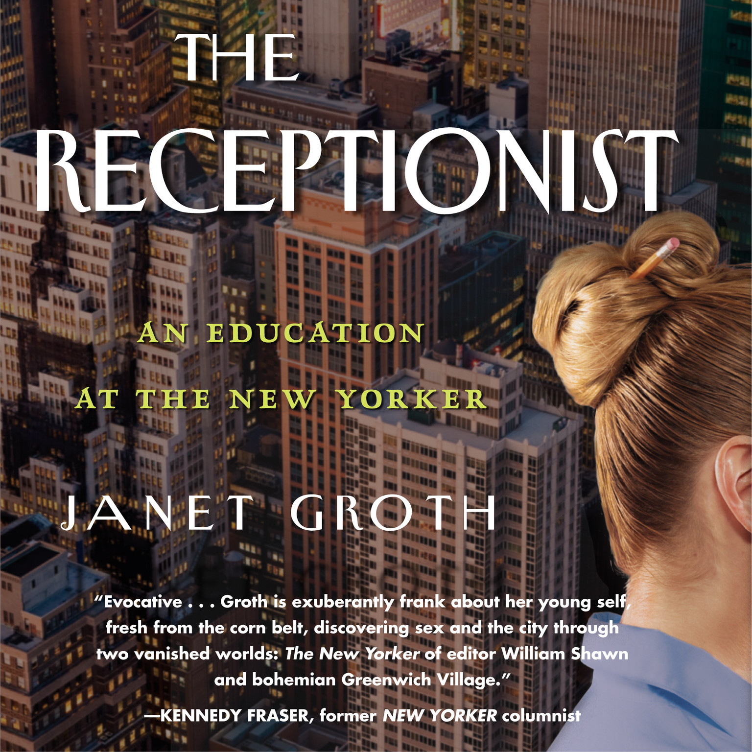 Printable The Receptionist: An Education at the New Yorker Audiobook Cover Art