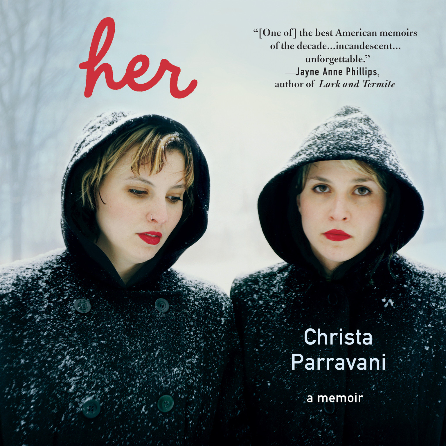 Printable Her: A Memoir Audiobook Cover Art