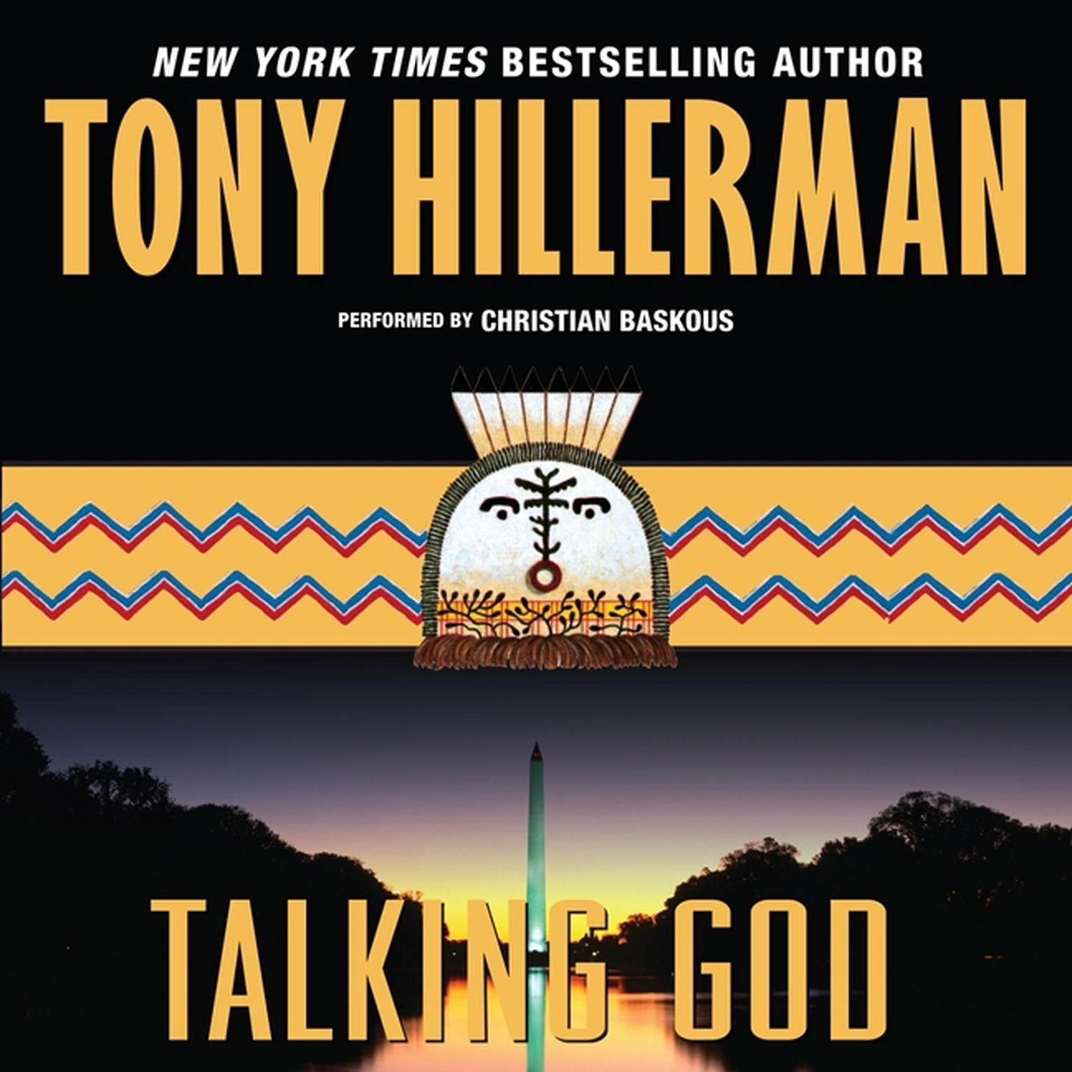 Printable Talking God Audiobook Cover Art