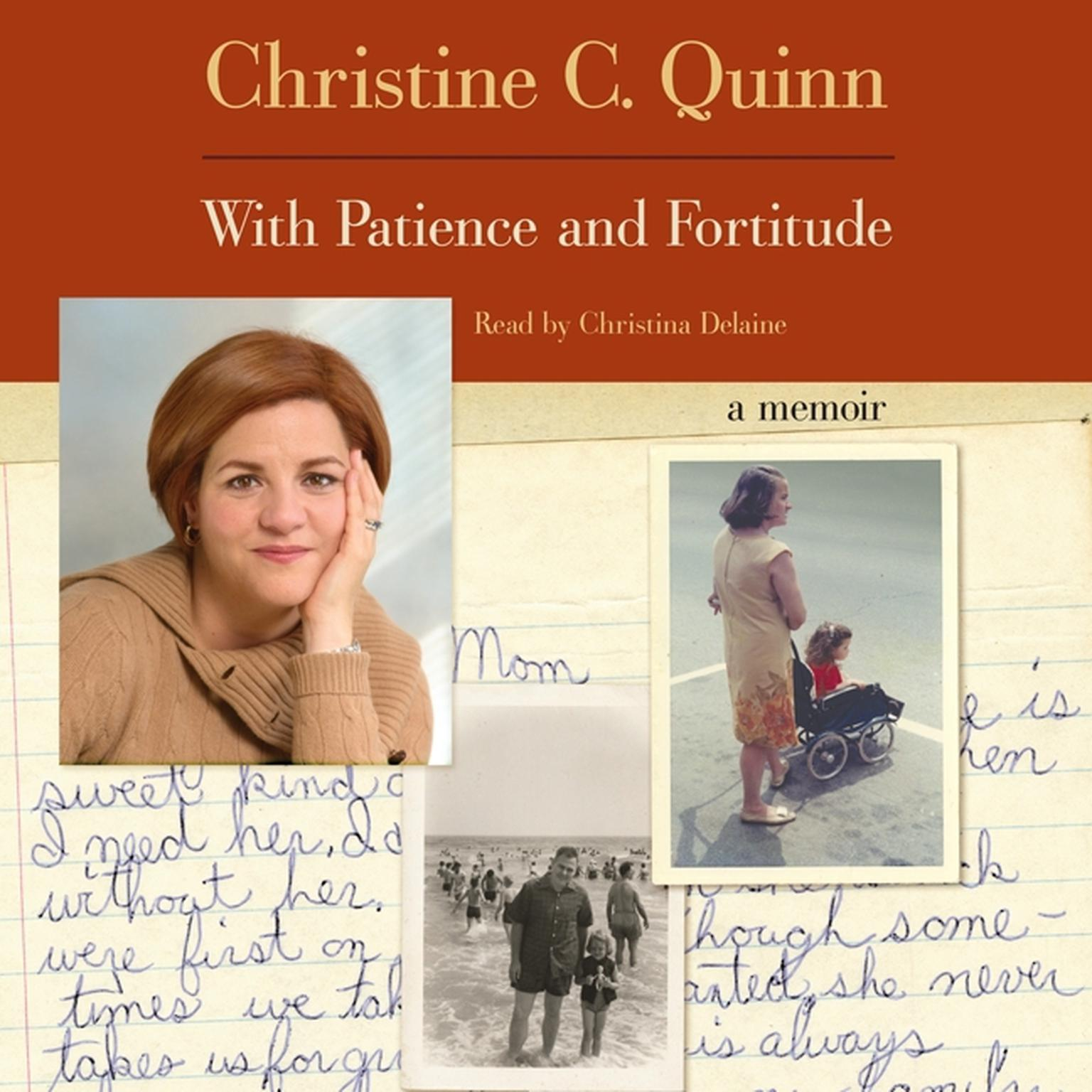 Printable With Patience and Fortitude: A Memoir Audiobook Cover Art