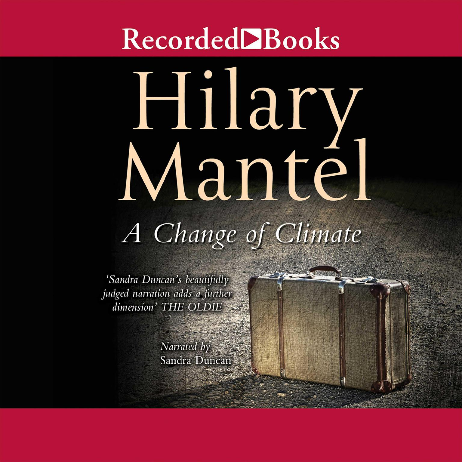 Printable A Change of Climate Audiobook Cover Art