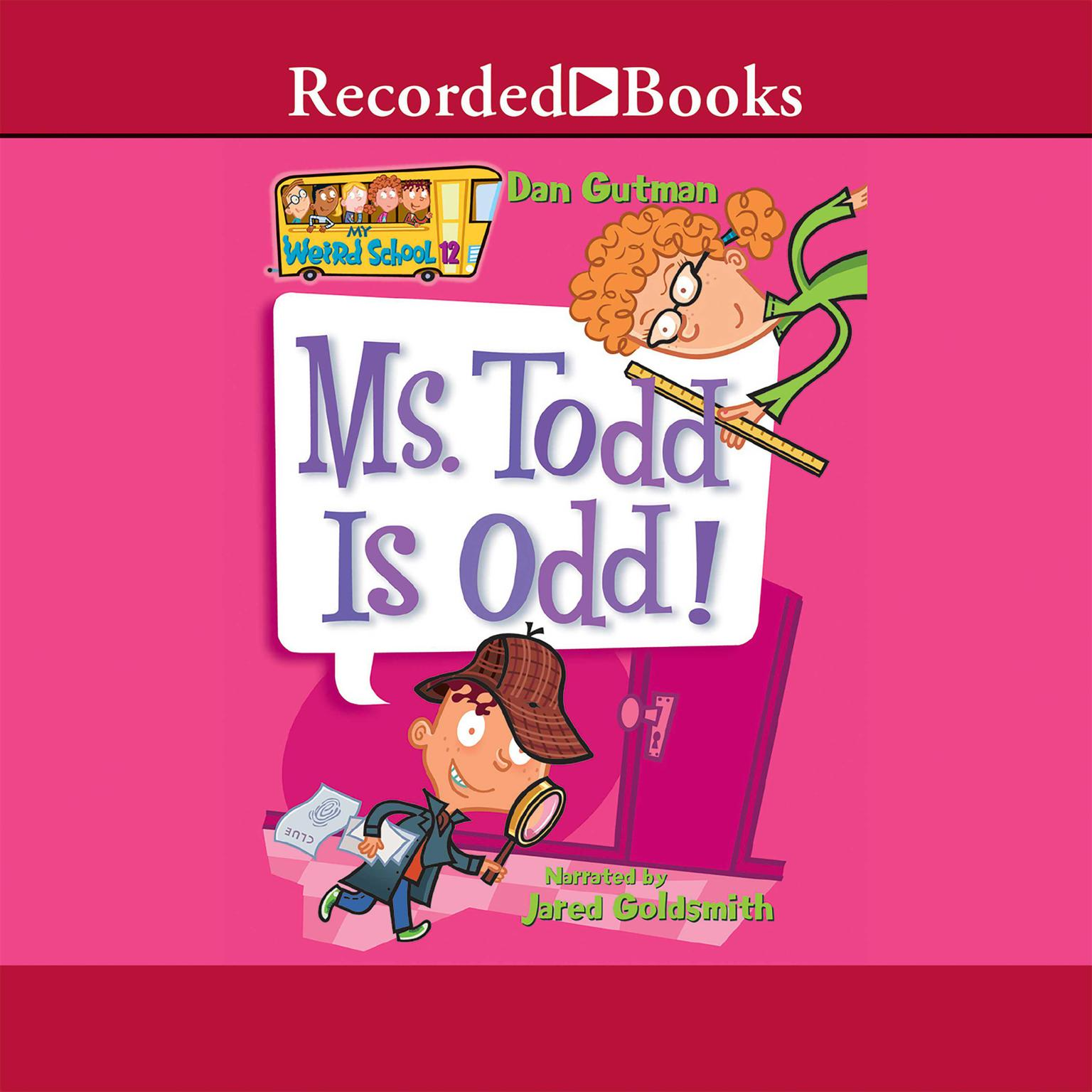 Printable Ms. Todd is Odd Audiobook Cover Art