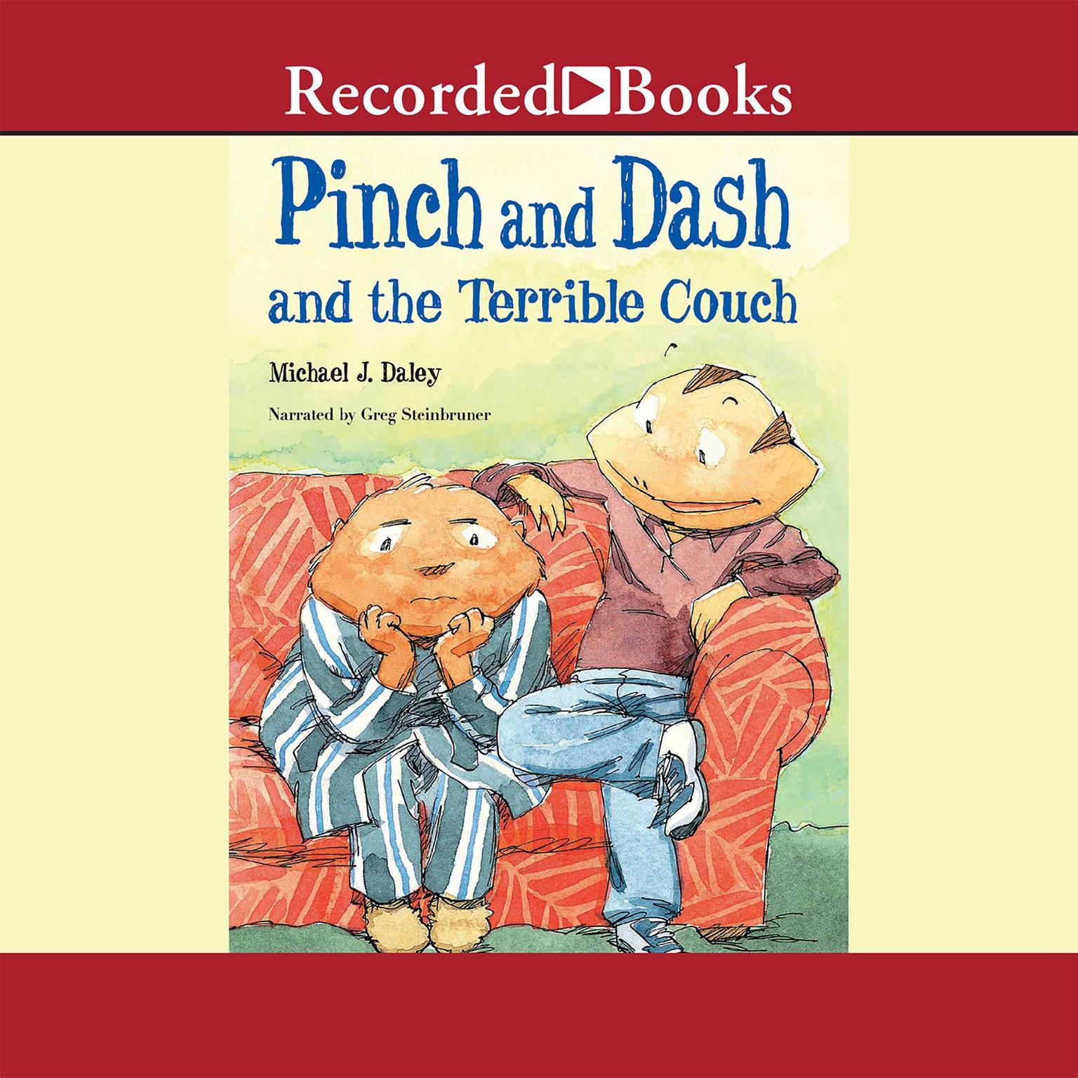 Printable Pinch and Dash and the Terrible Couch Audiobook Cover Art