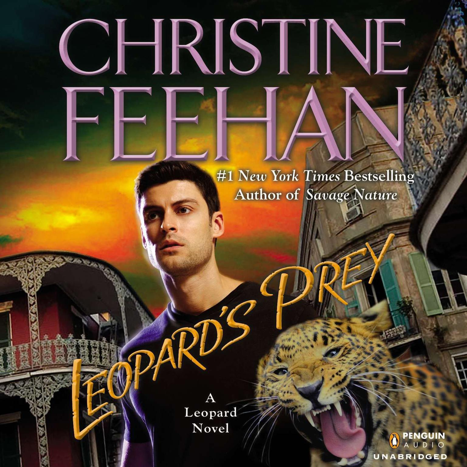 Printable Leopard's Prey Audiobook Cover Art