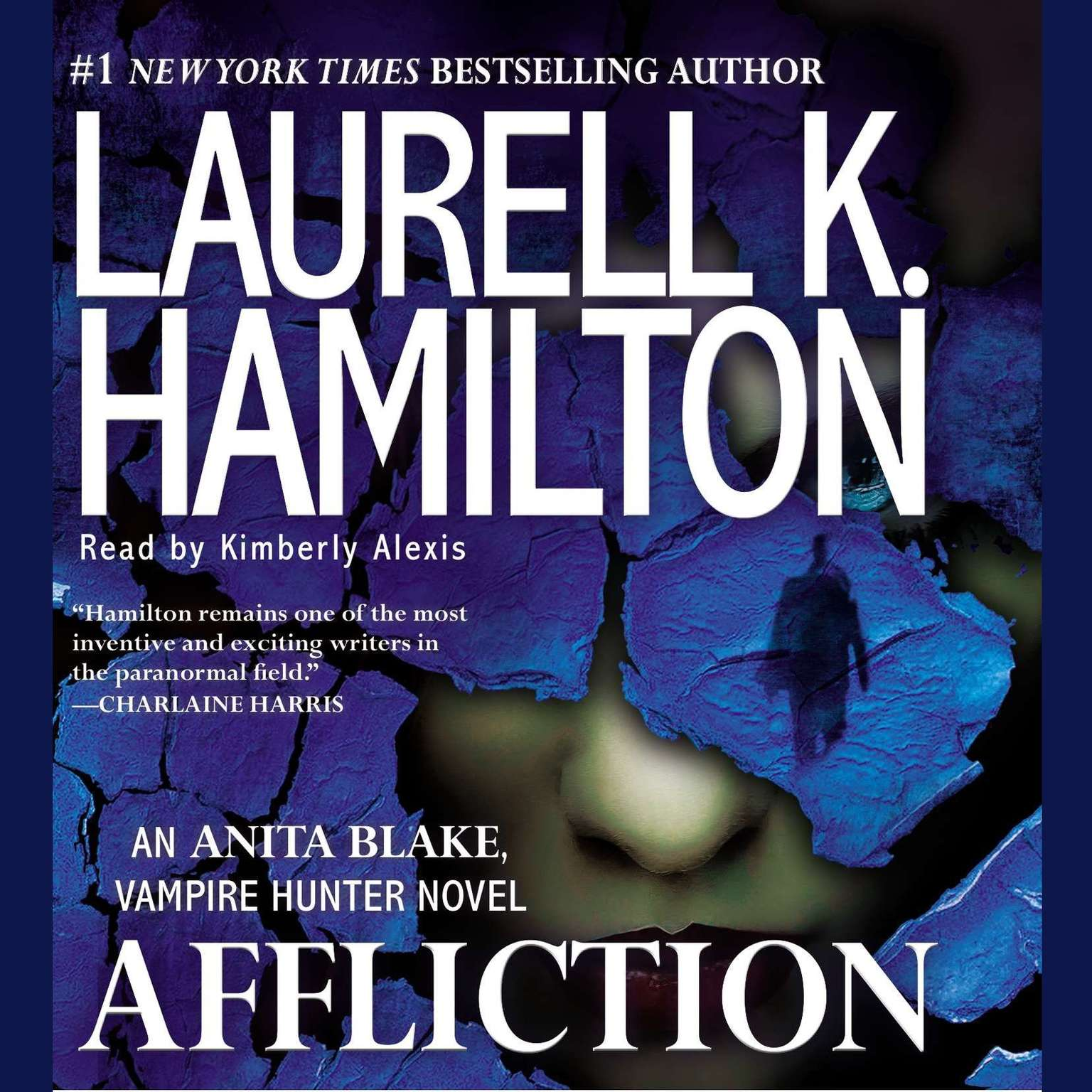 Printable Affliction: An Anita Blake, Vampire Hunter Novel Audiobook Cover Art