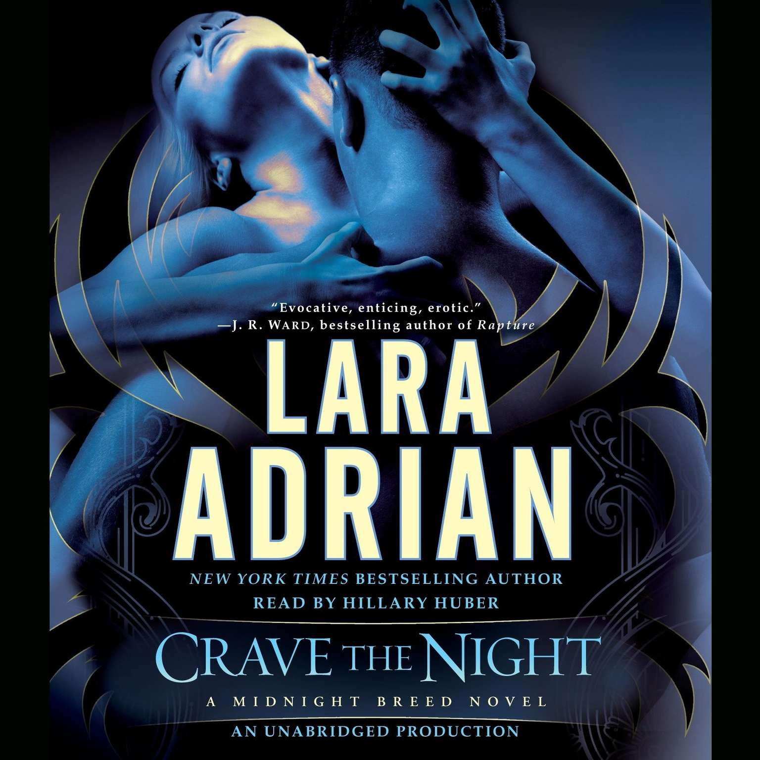 Printable Crave the Night: A Midnight Breed Novel Audiobook Cover Art