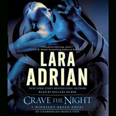 Crave the Night: A Midnight Breed Novel Audiobook, by Lara Adrian