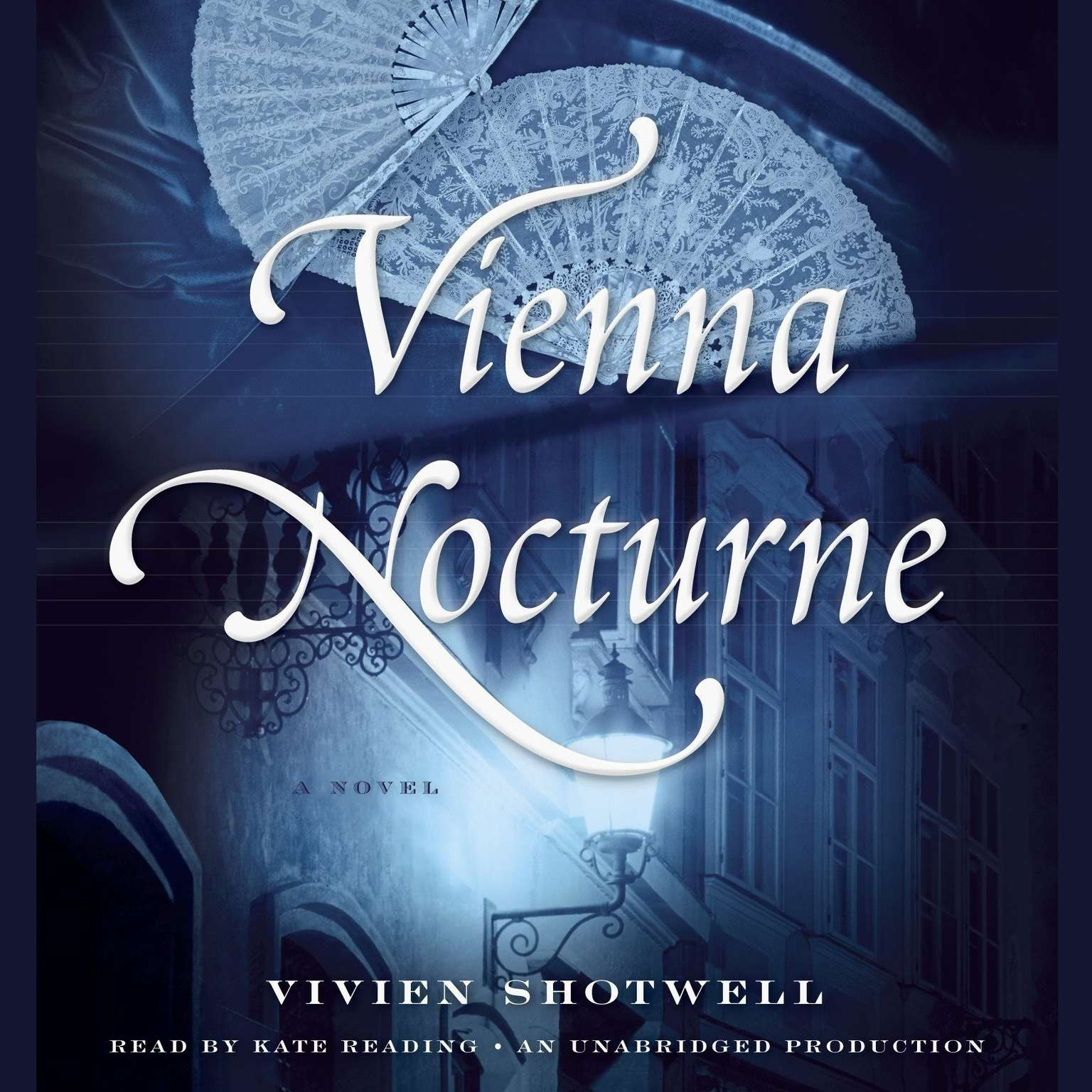 Printable Vienna Nocturne: A Novel Audiobook Cover Art