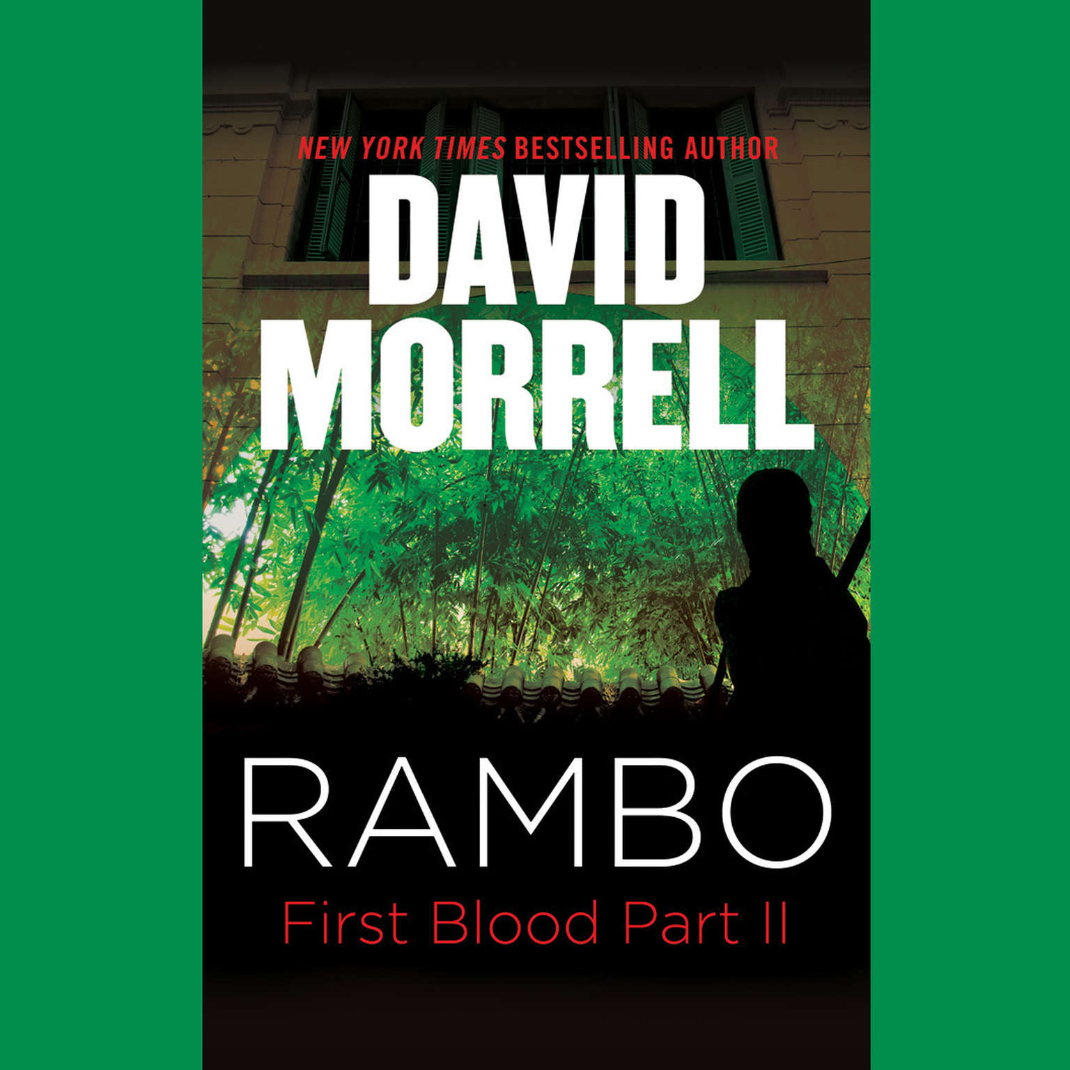 Printable Rambo: First Blood Part II Audiobook Cover Art