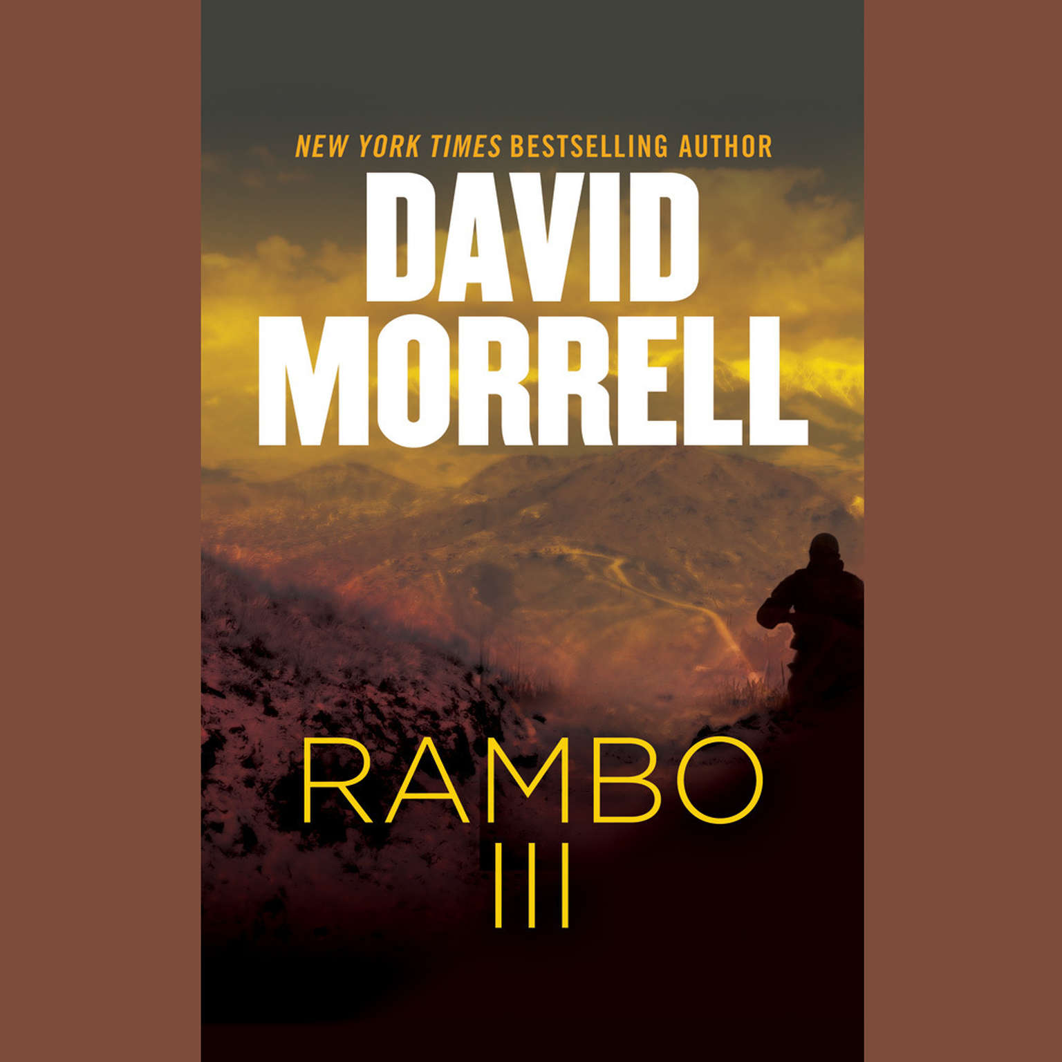 Printable Rambo III Audiobook Cover Art