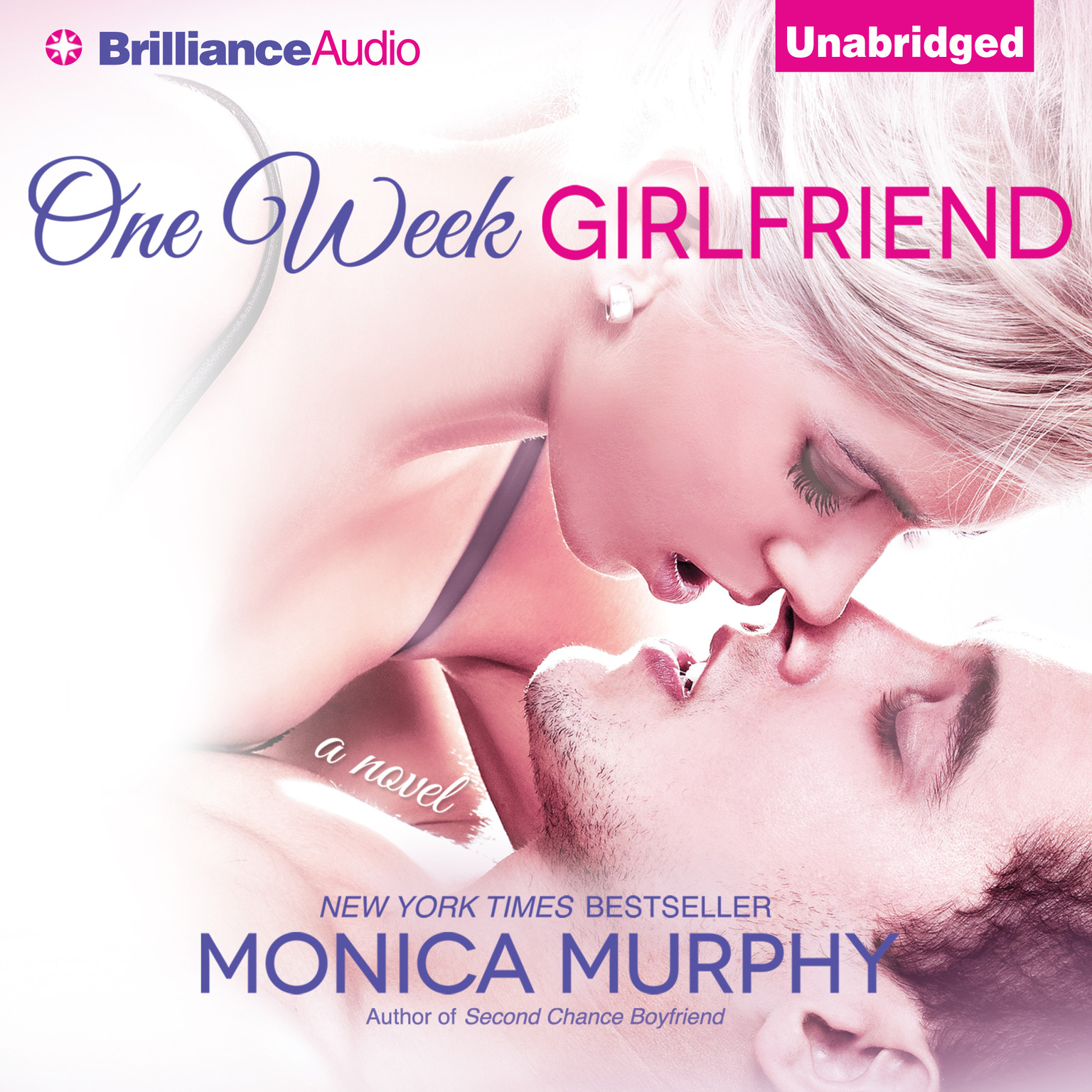 Printable One Week Girlfriend: A Novel Audiobook Cover Art