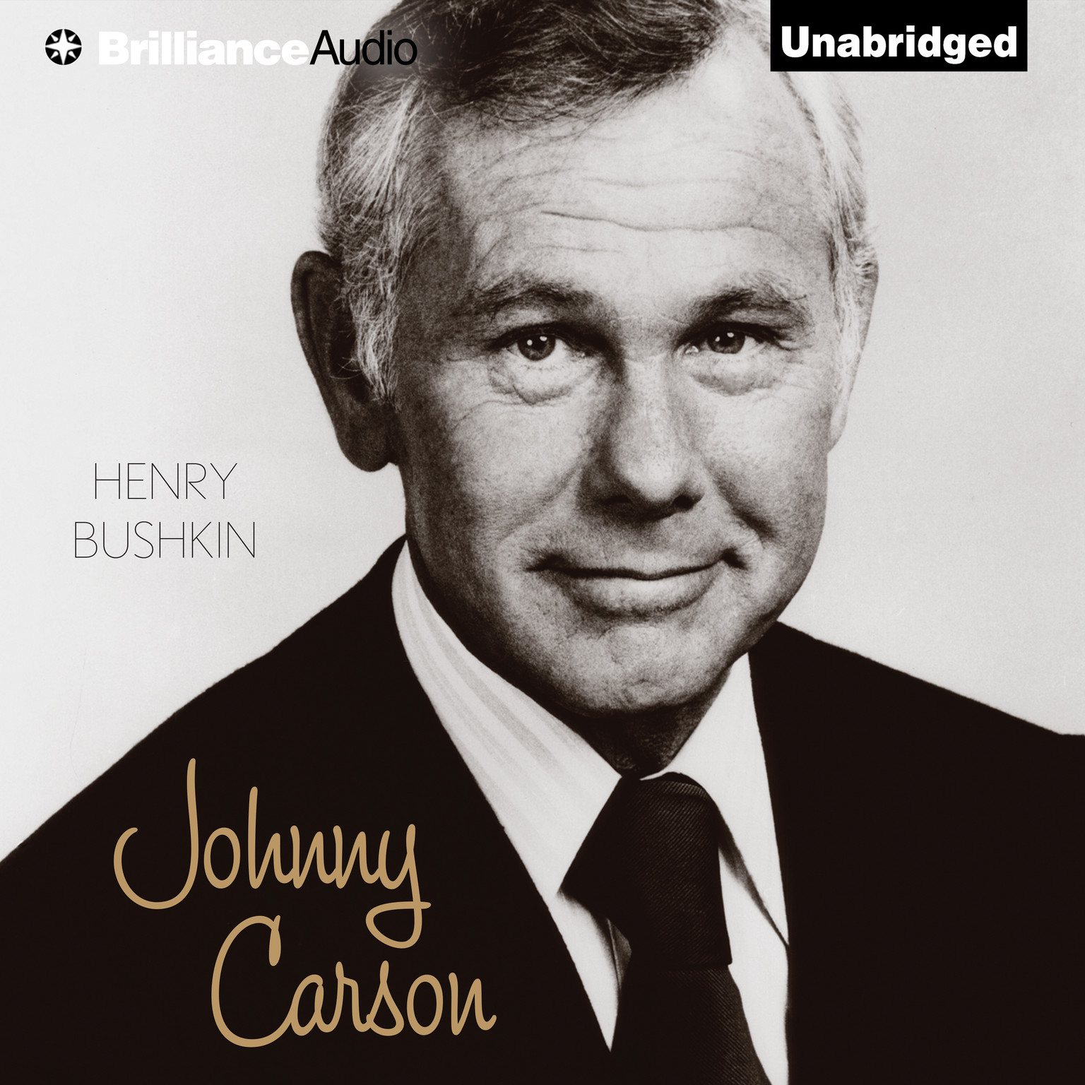 Printable Johnny Carson Audiobook Cover Art