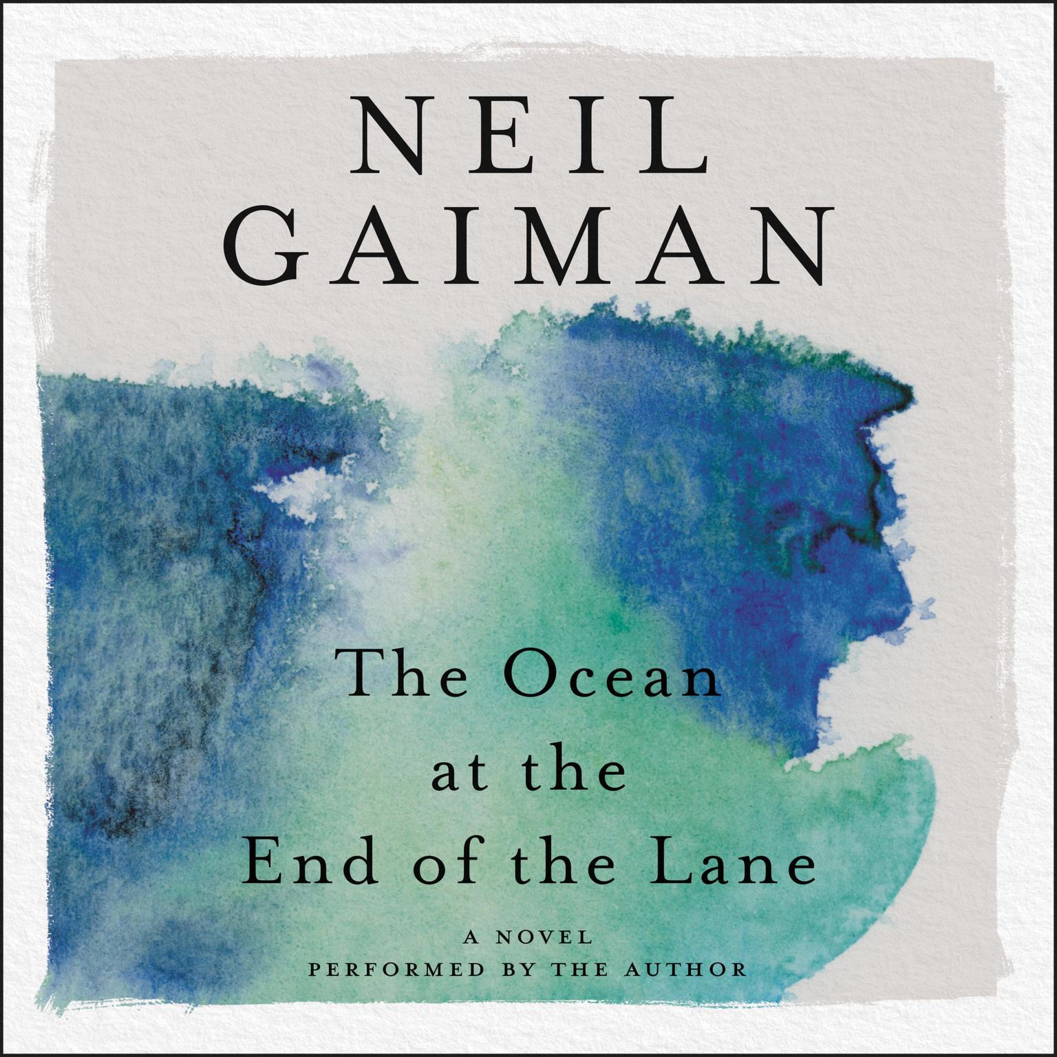 Printable The Ocean at the End of the Lane Audiobook Cover Art