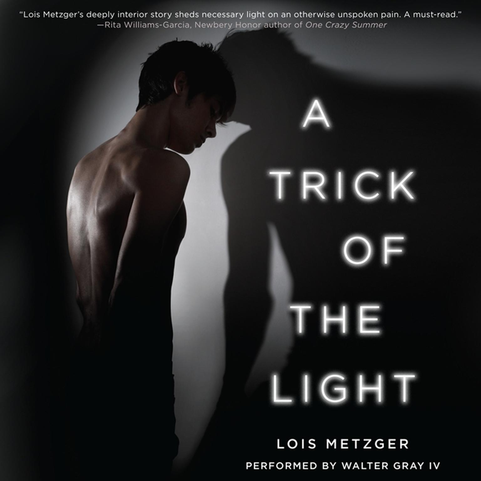 Printable A Trick of the Light Audiobook Cover Art