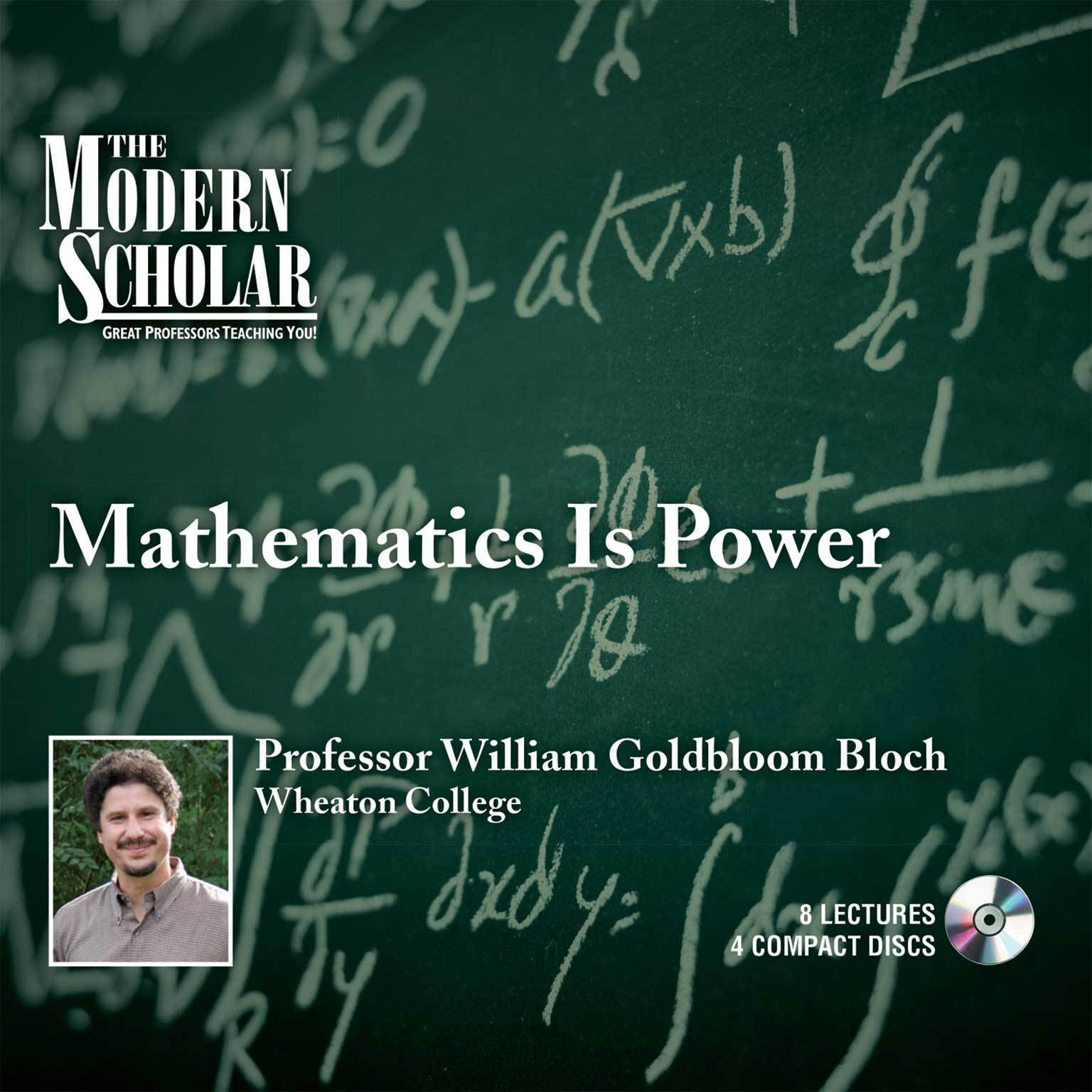 Printable Mathematics Is Power Audiobook Cover Art